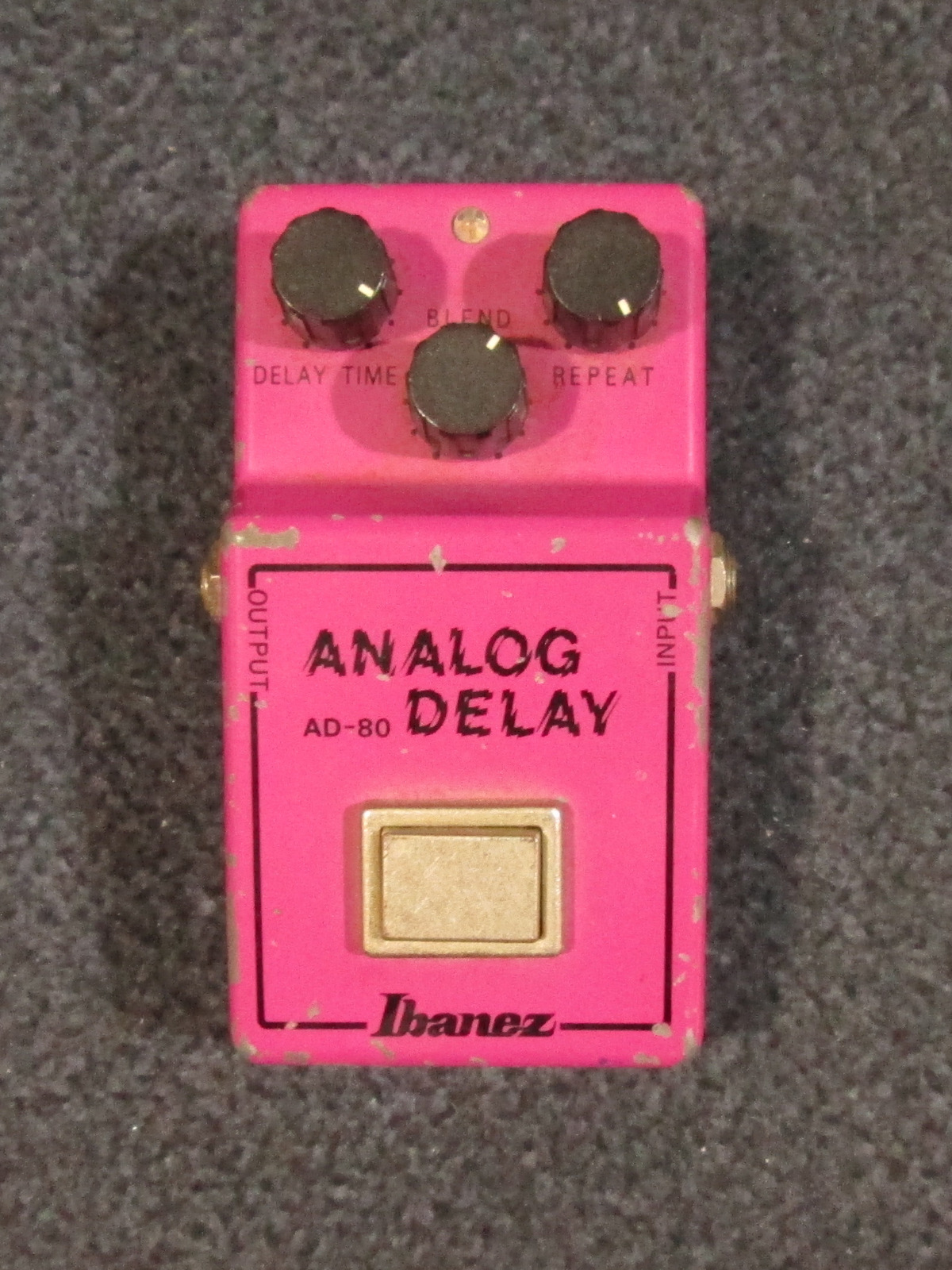 VINTAGE IBANEZ AD-80 ANALOG DELAY EFFECT PEDAL