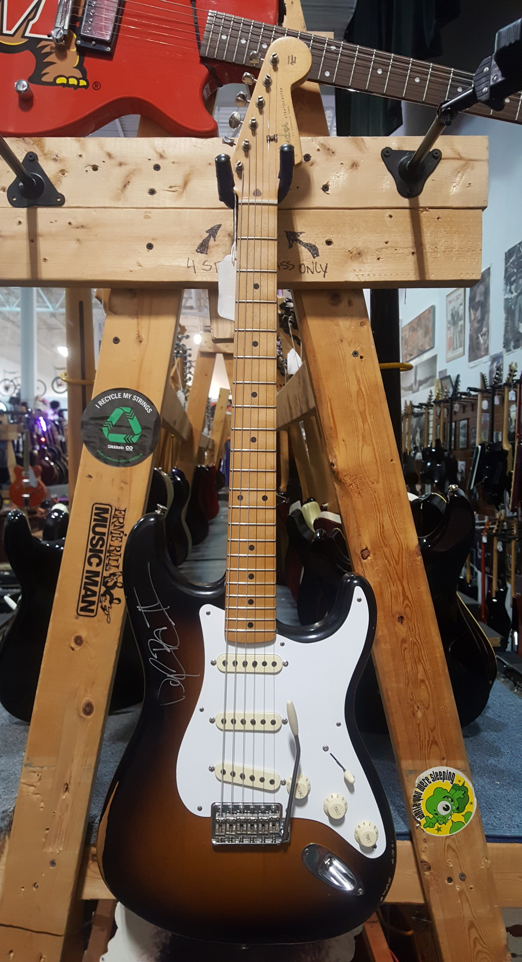 2016 FENDER ROAD WORN '50s STRATOCASTER MIM Electric Guitar - 2-Color Sunburst!