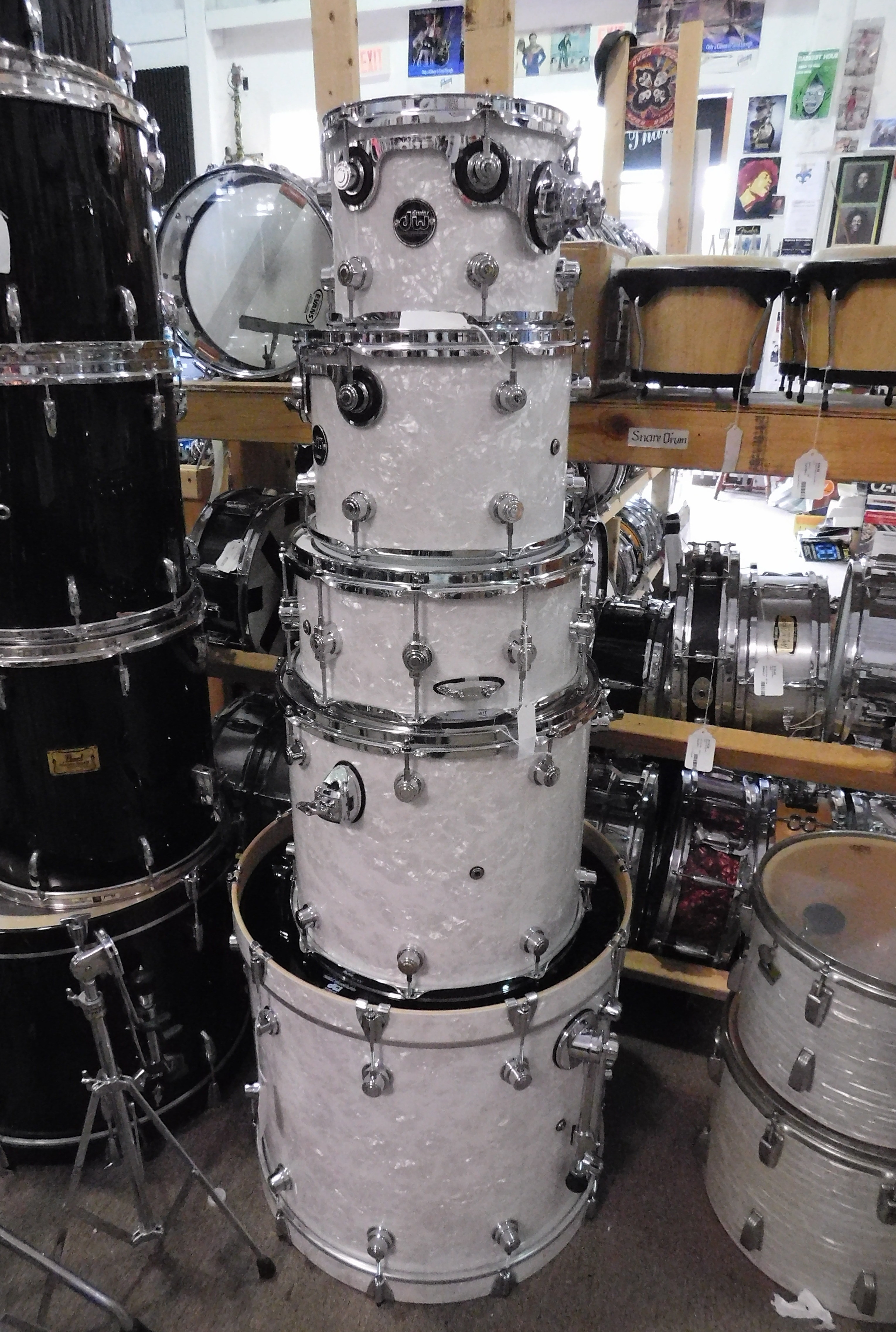 DW PERFORMANCE SERIES 5-Piece Shell Pack- EXCELLENT CONDITION-LOCAL PICKUP ONLY!