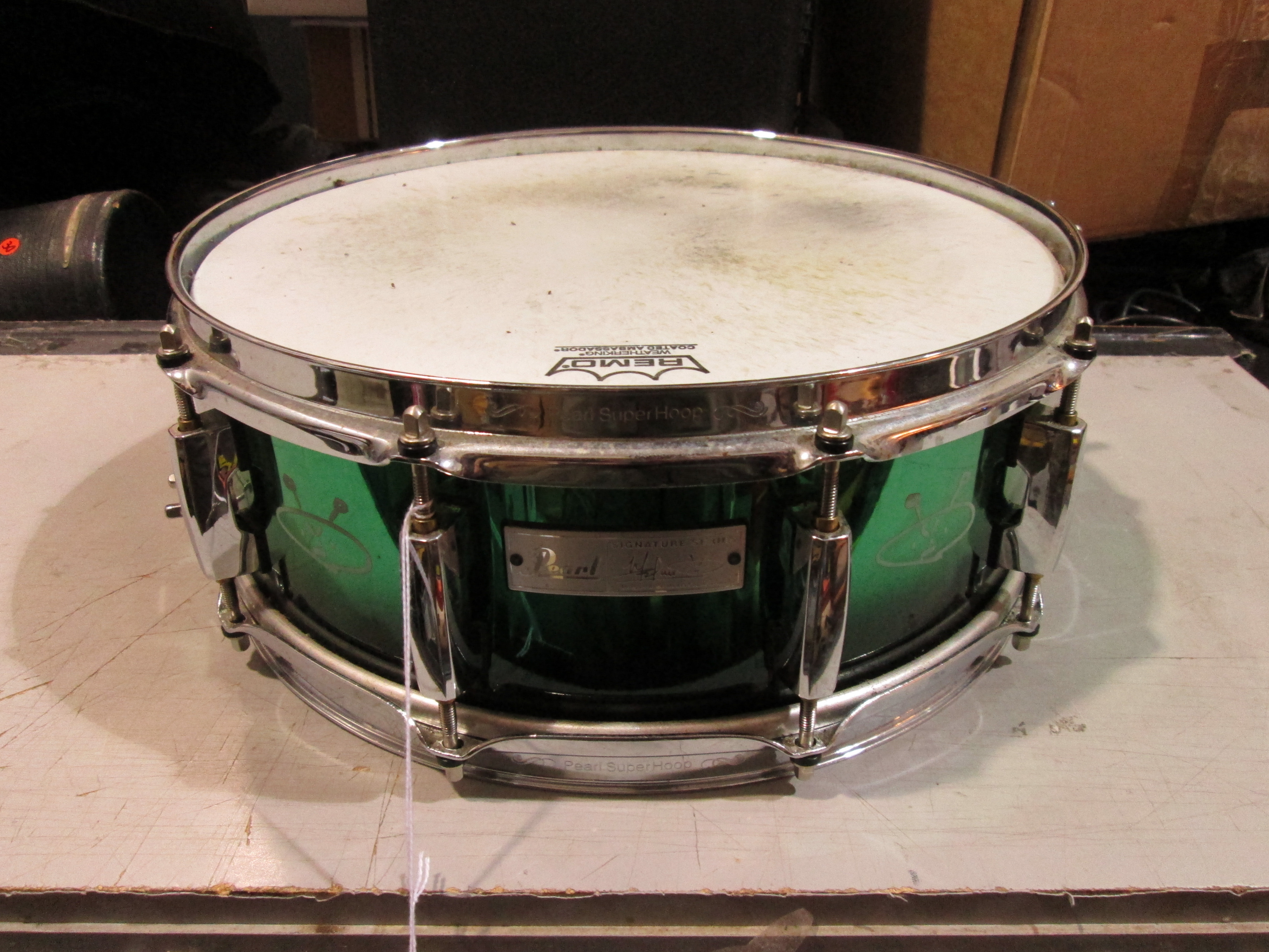 PEARL MORGAN ROSE SIGNATURE SNARE DRUM 5