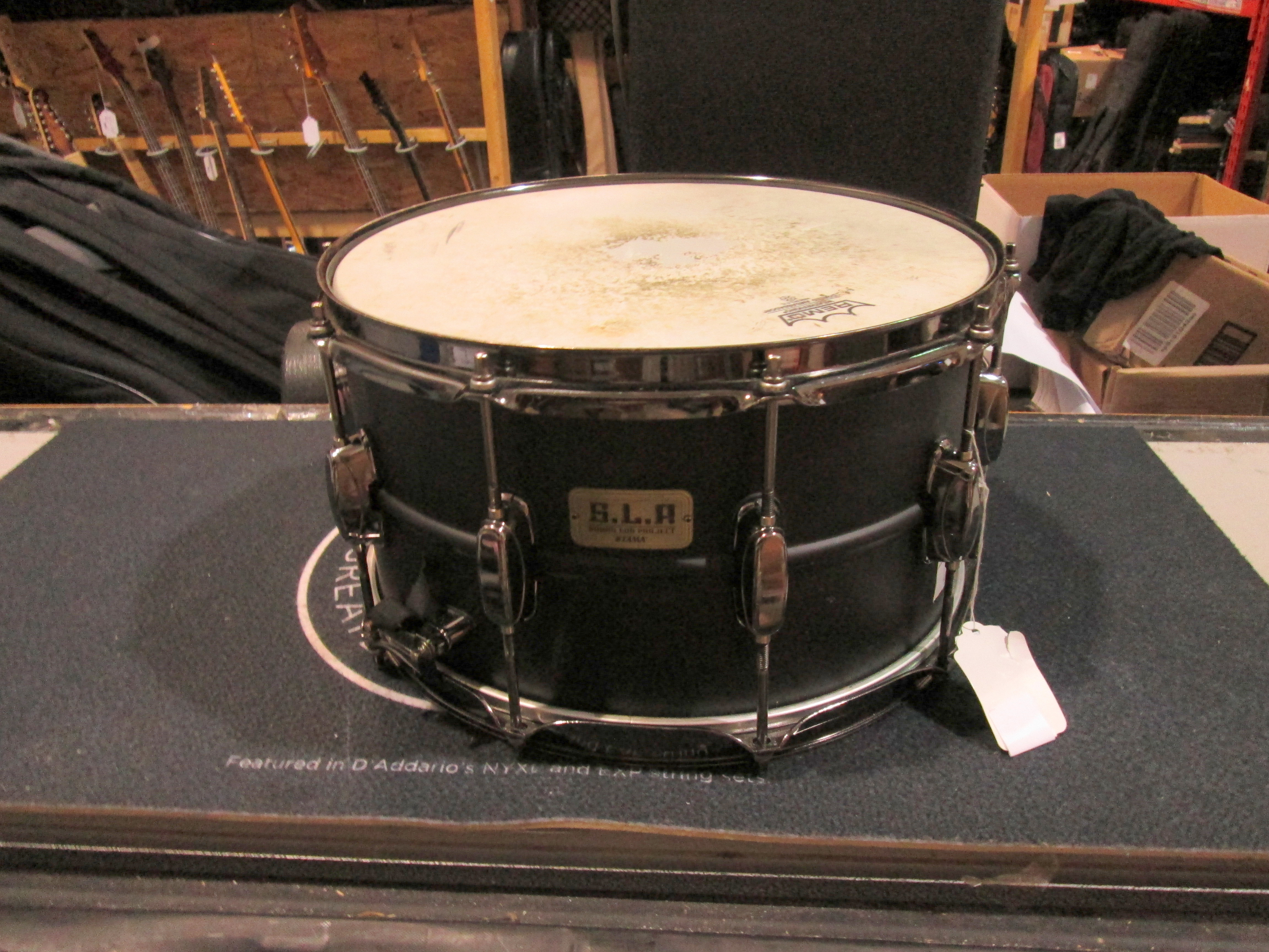 TAMA S.L.P. BIG BLACK STEEL LIMITED EDITION SNARE 14