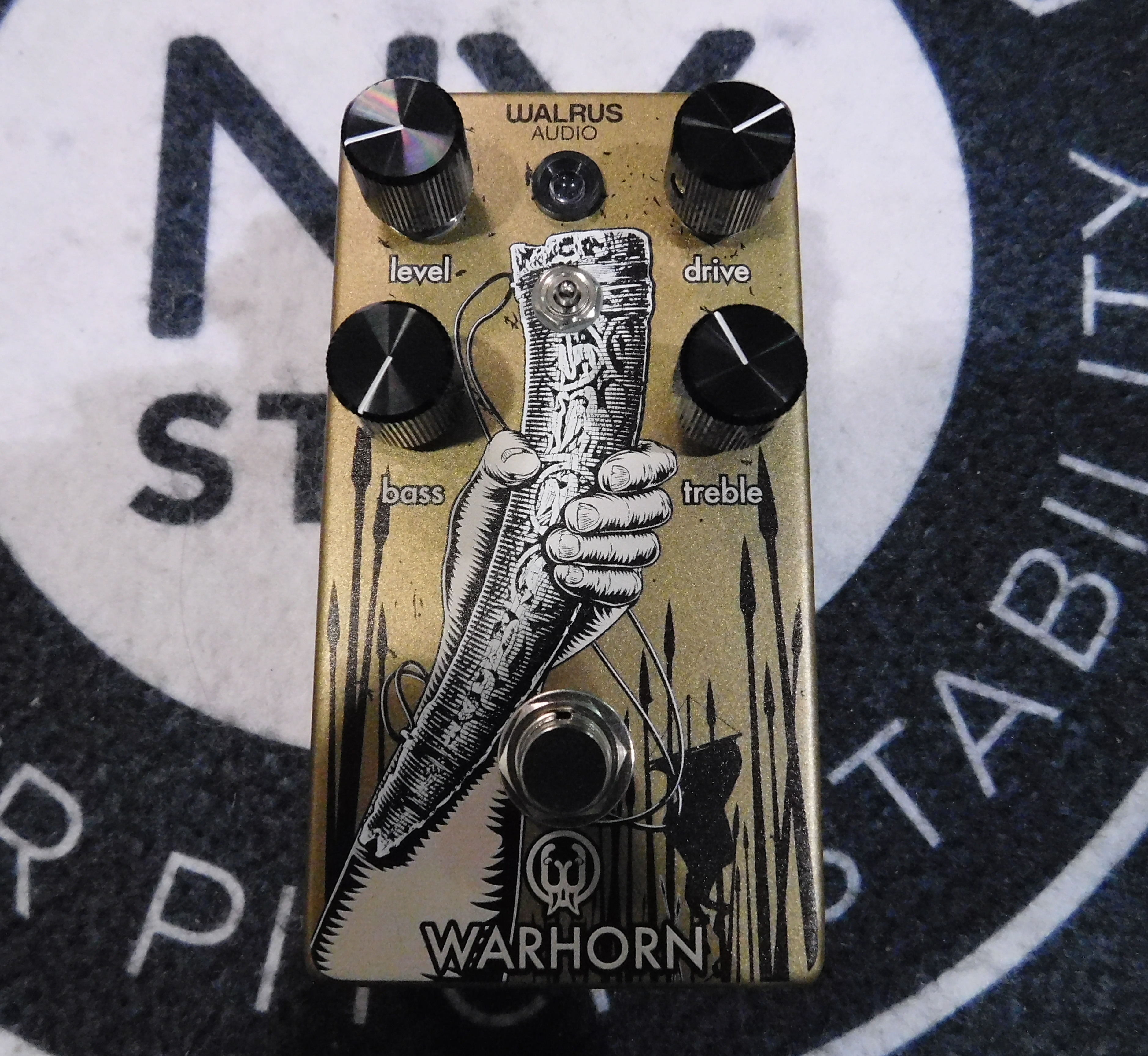 WALRUS AUDIO WARHORN Mid-Range Overdrive Guitar Effect Pedal