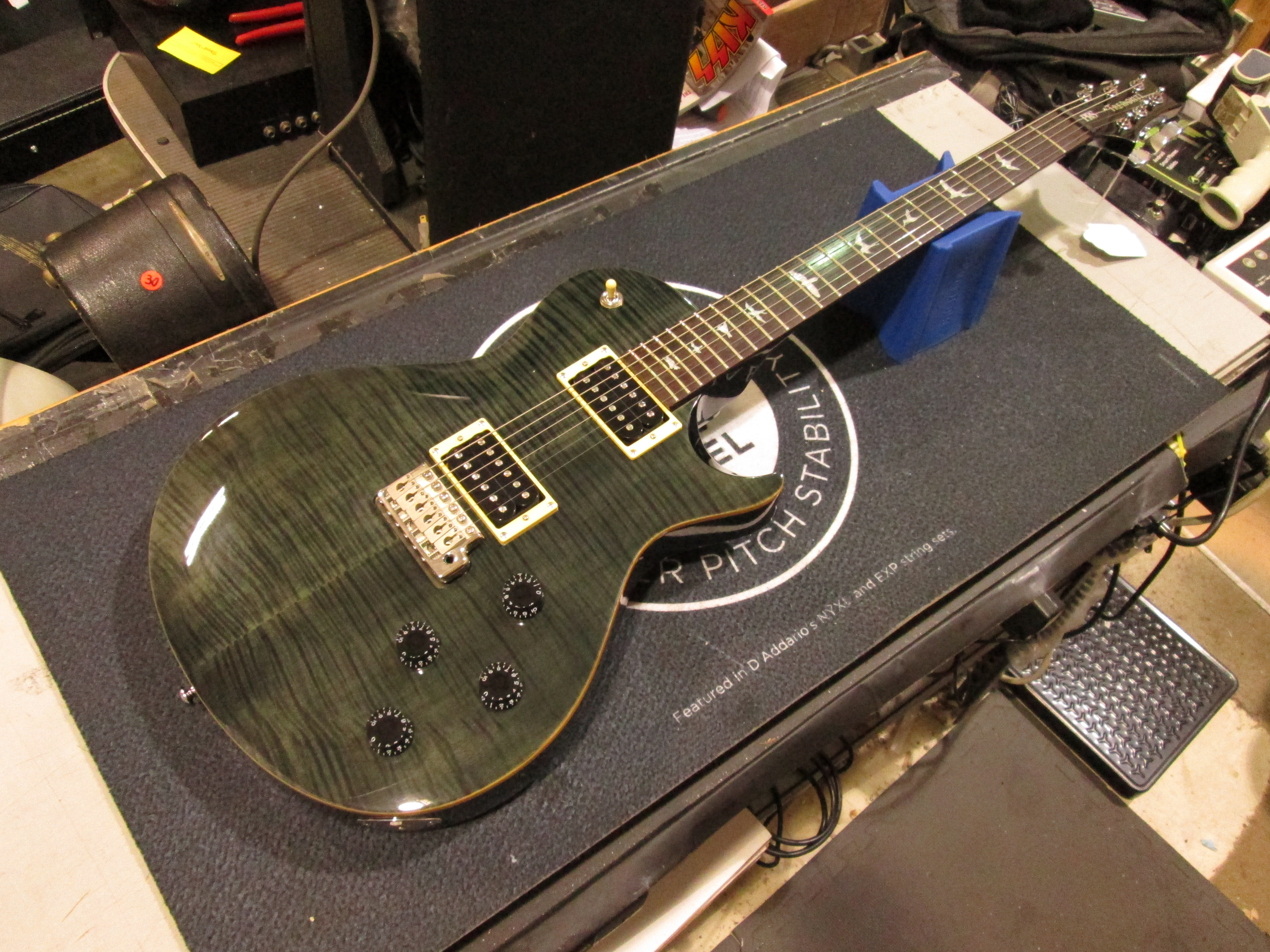 PRS SE MARK TREMONTI Electric Guitar - GRAY BLACK with Gig-bag!!