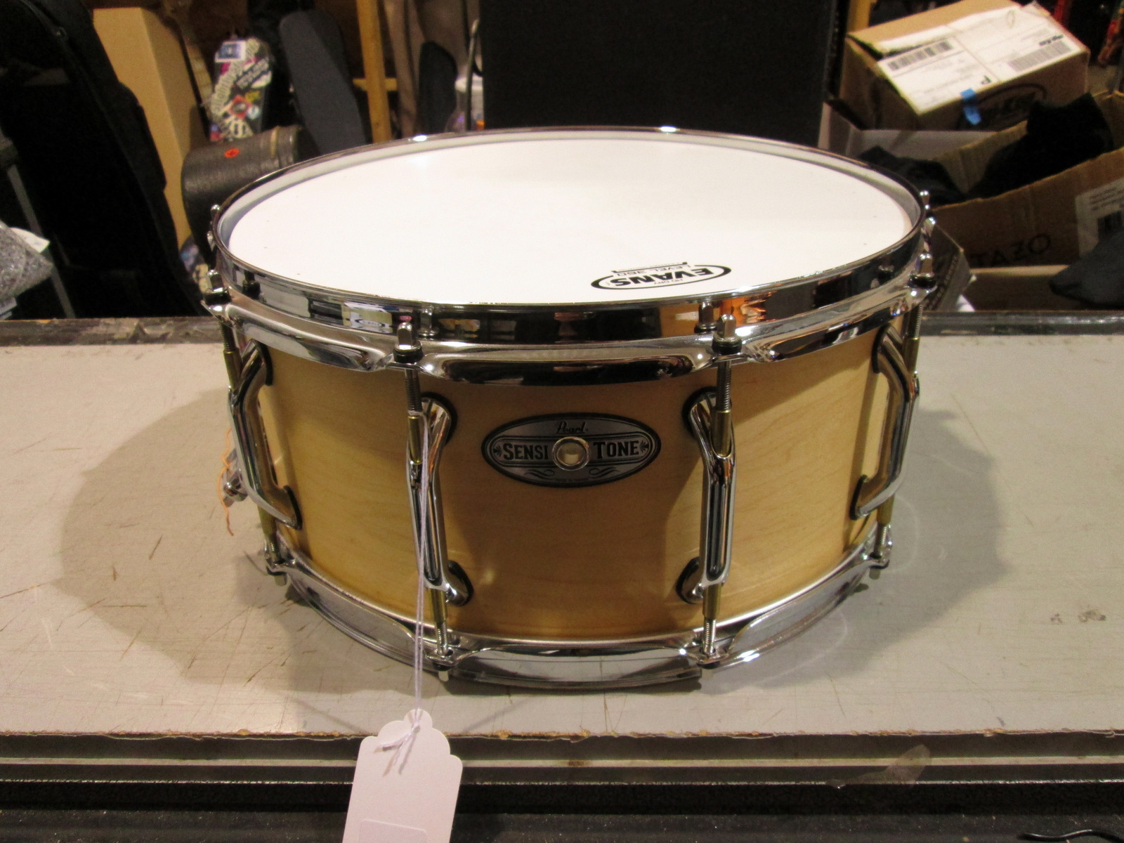 PEARL SENSITONE MAPLE SNARE DRUM 14