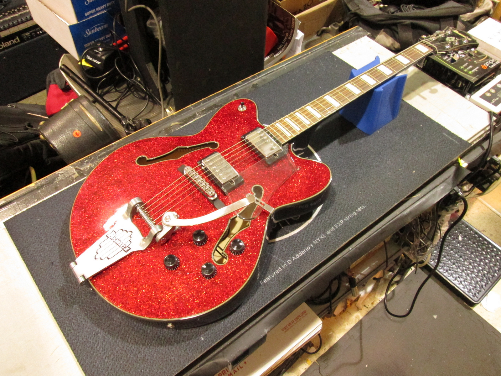IBANEZ ARTCORE AFD75T-RSP-12-01 HOLLOWBODY ELECTRIC GUITAR **RED SPARKLE**