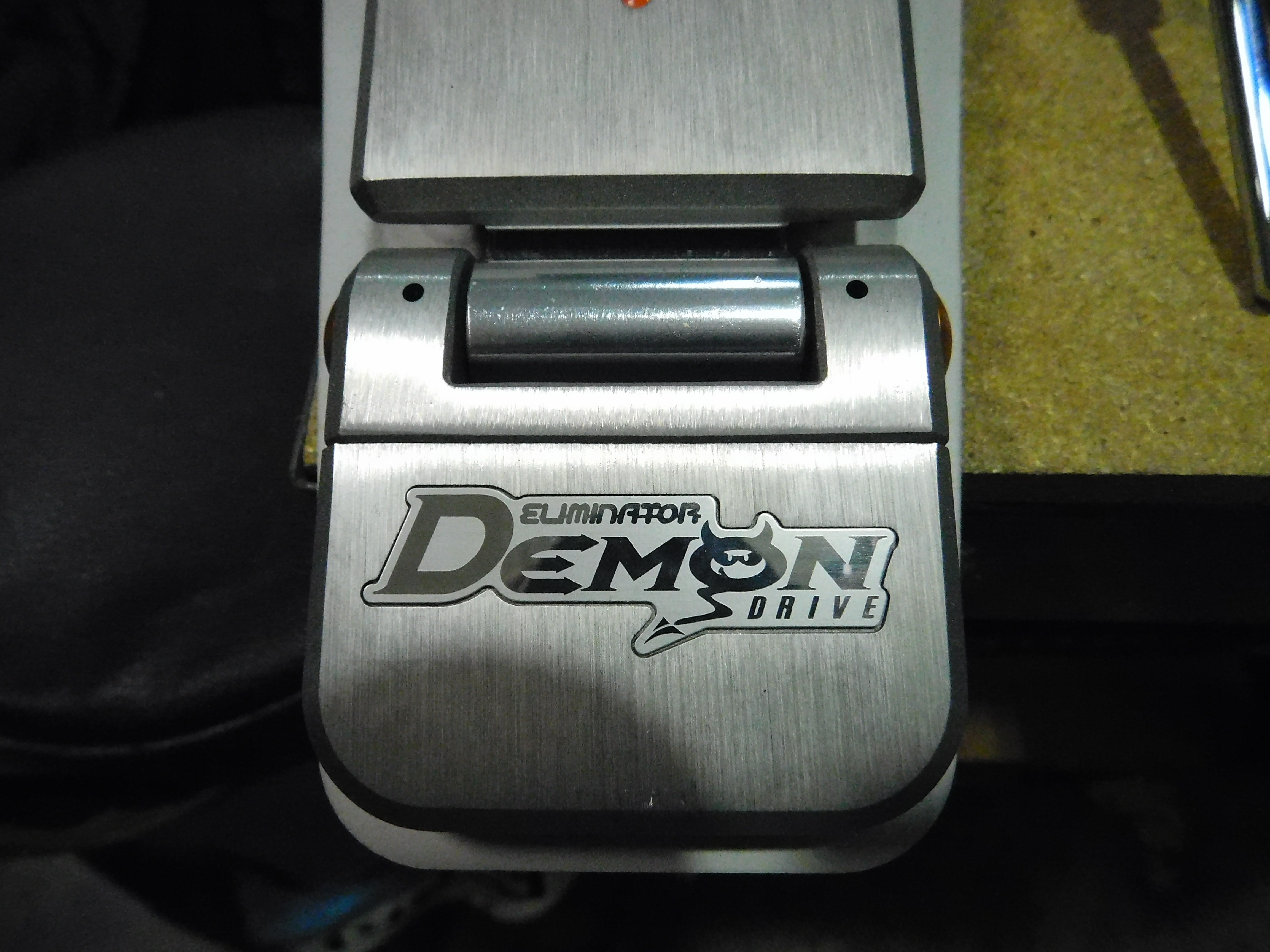PEARL ELIMINATOR Demon Drive Direct-Drive Double Pedal with Case!