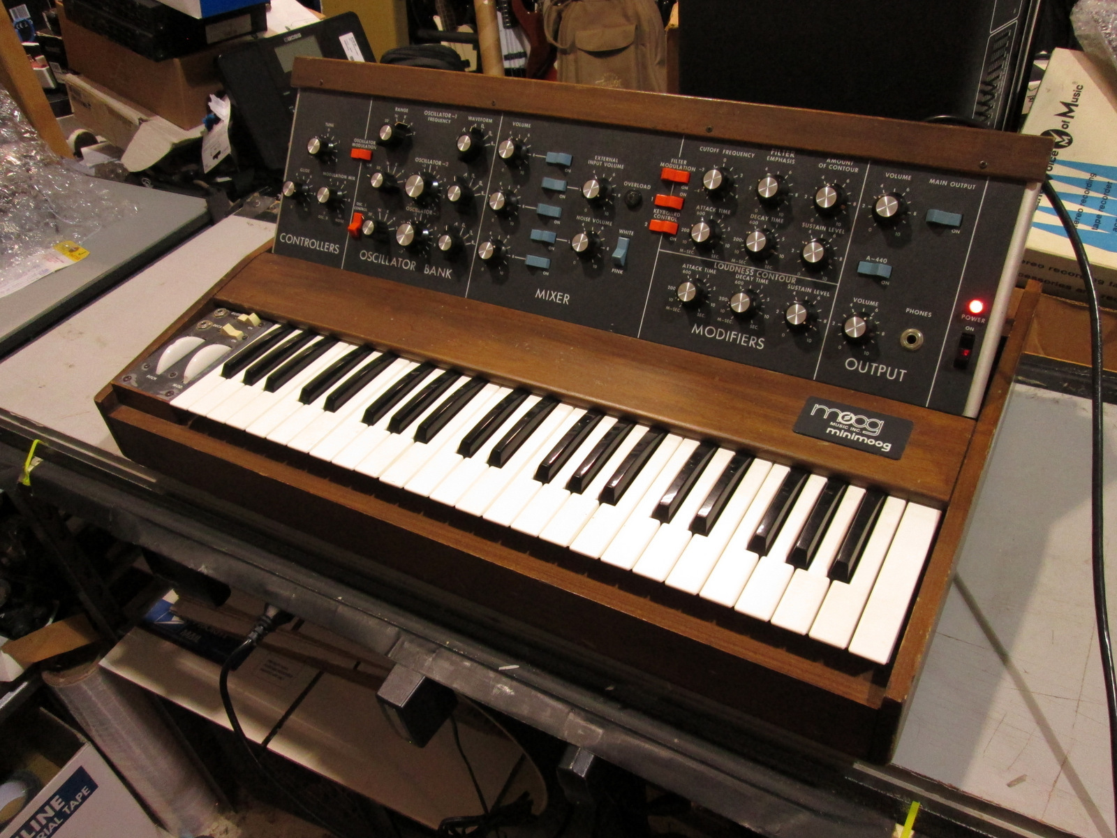 MOOG MiniMoog Model D 1970s Analog Synthesizer - LOCAL PICKUP ONLY!
