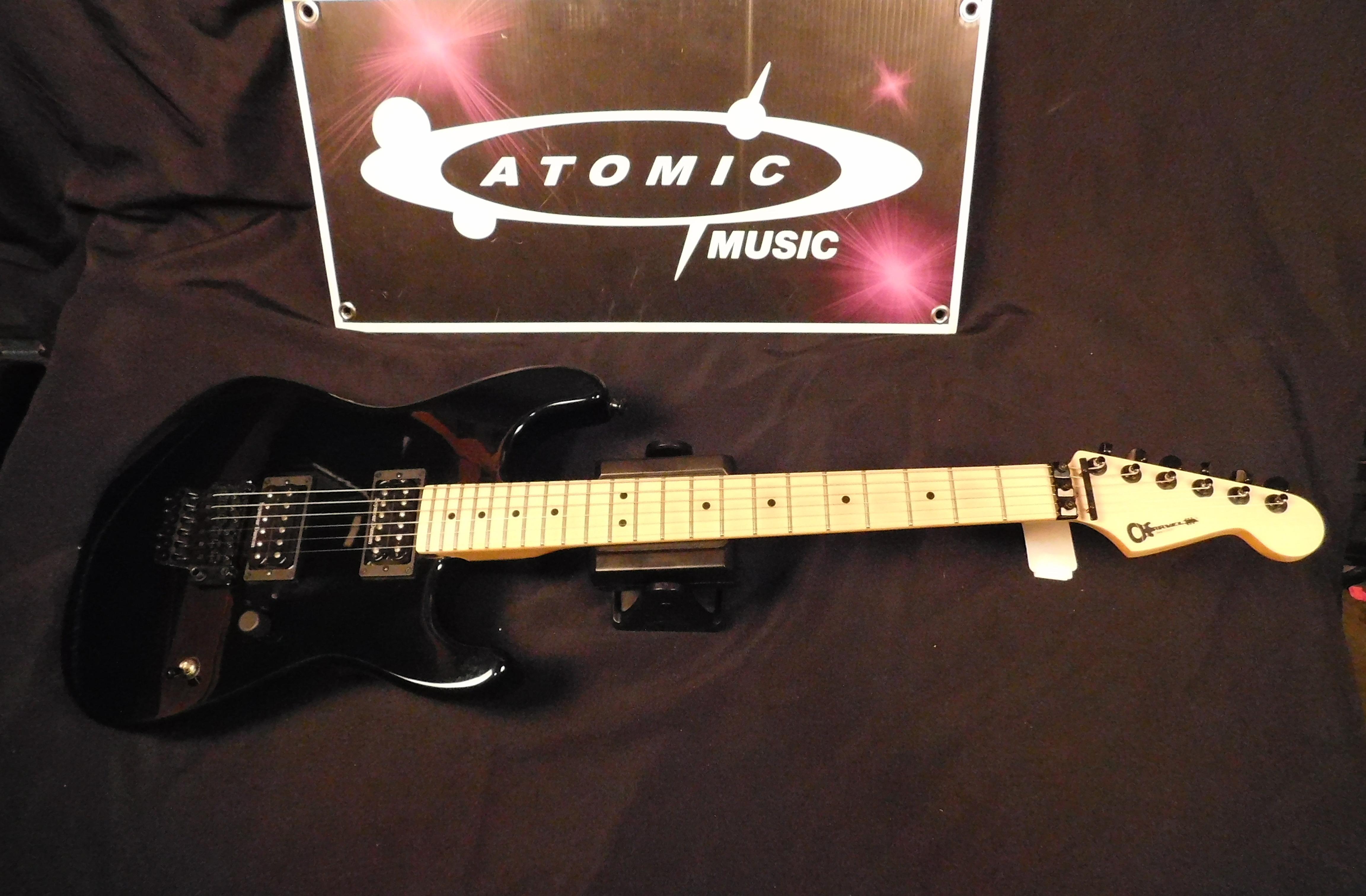 CHARVEL USA SAN DIMAS Style Electric Guitar - Black with Gig-bag!