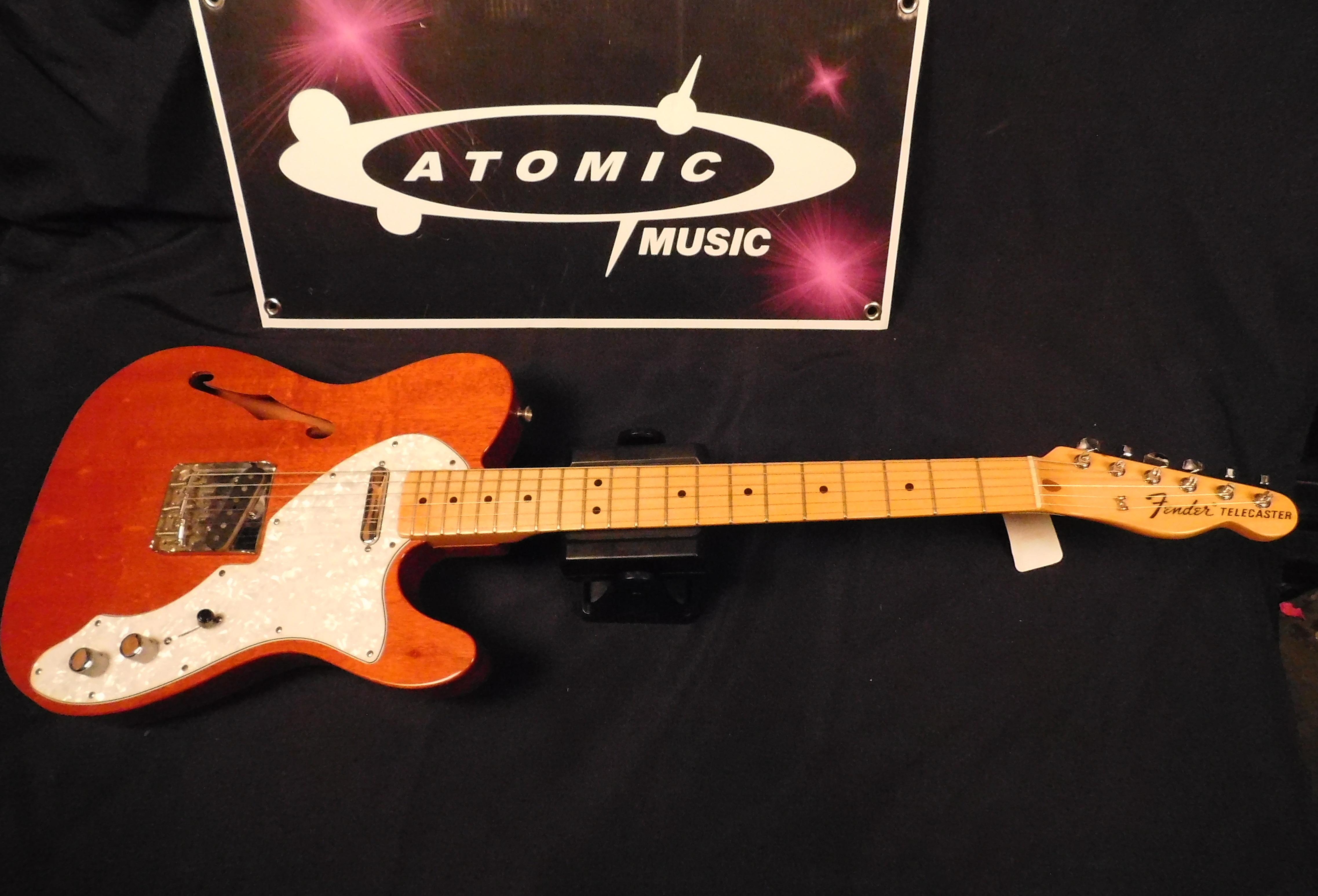 FENDER THINLINE TELECASTER Electric Guitar MIM with Gig-bag!