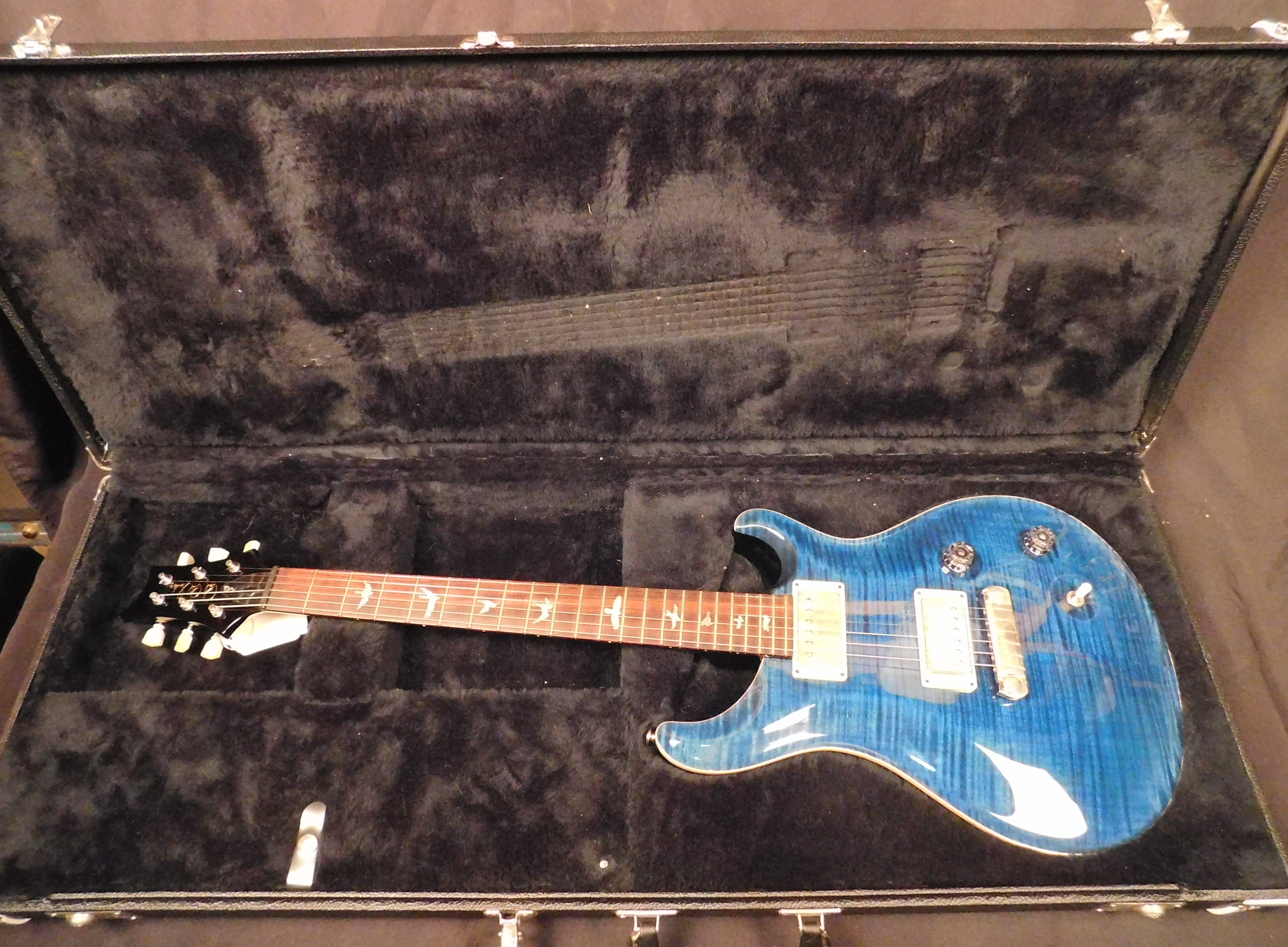 2003 PAUL REED SMITH PRS MCCARTY 10-Top Electric Guitar **HSC** Blue