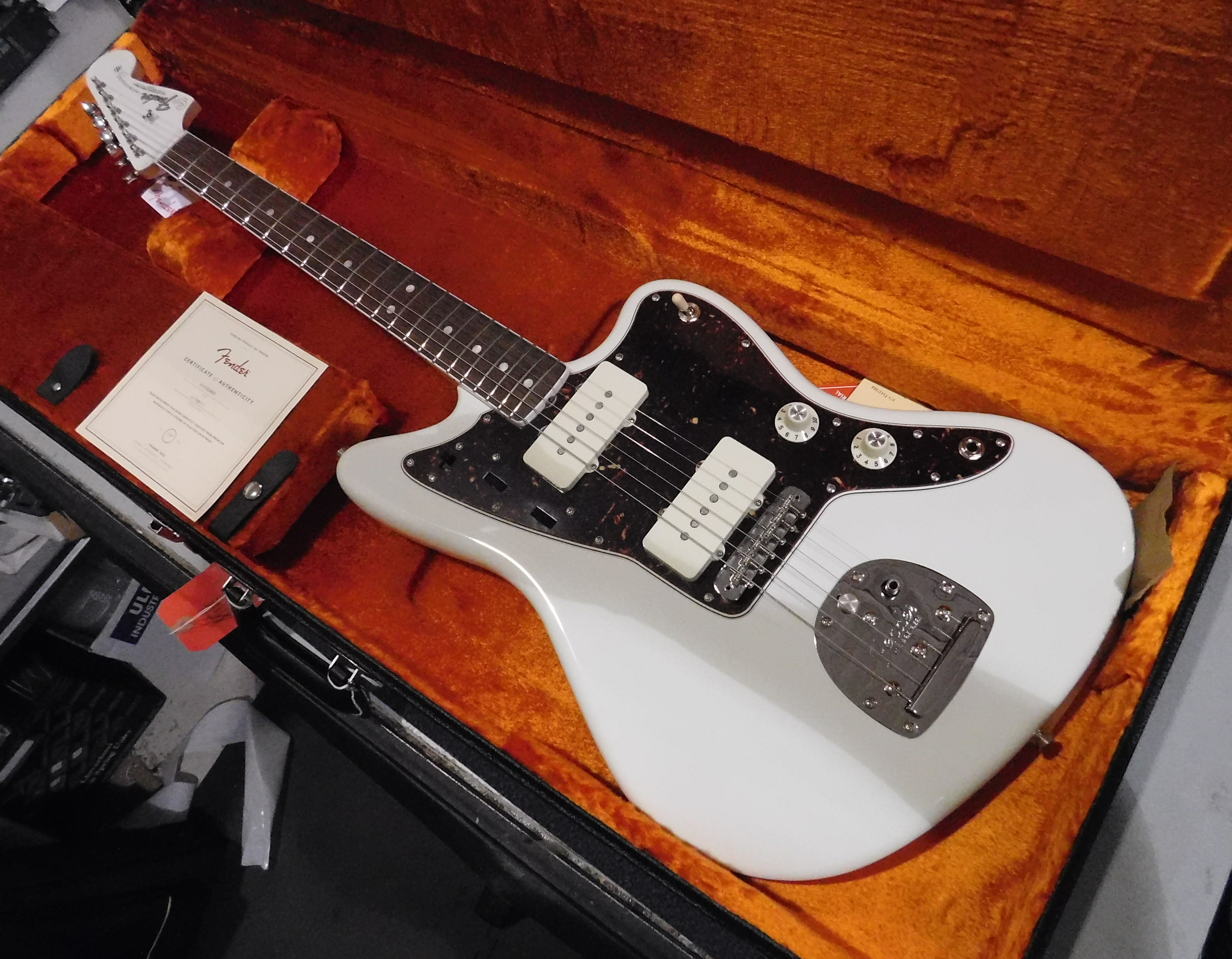FENDER American Vintage '65 JAZZMASTER **HSC** Olympic White