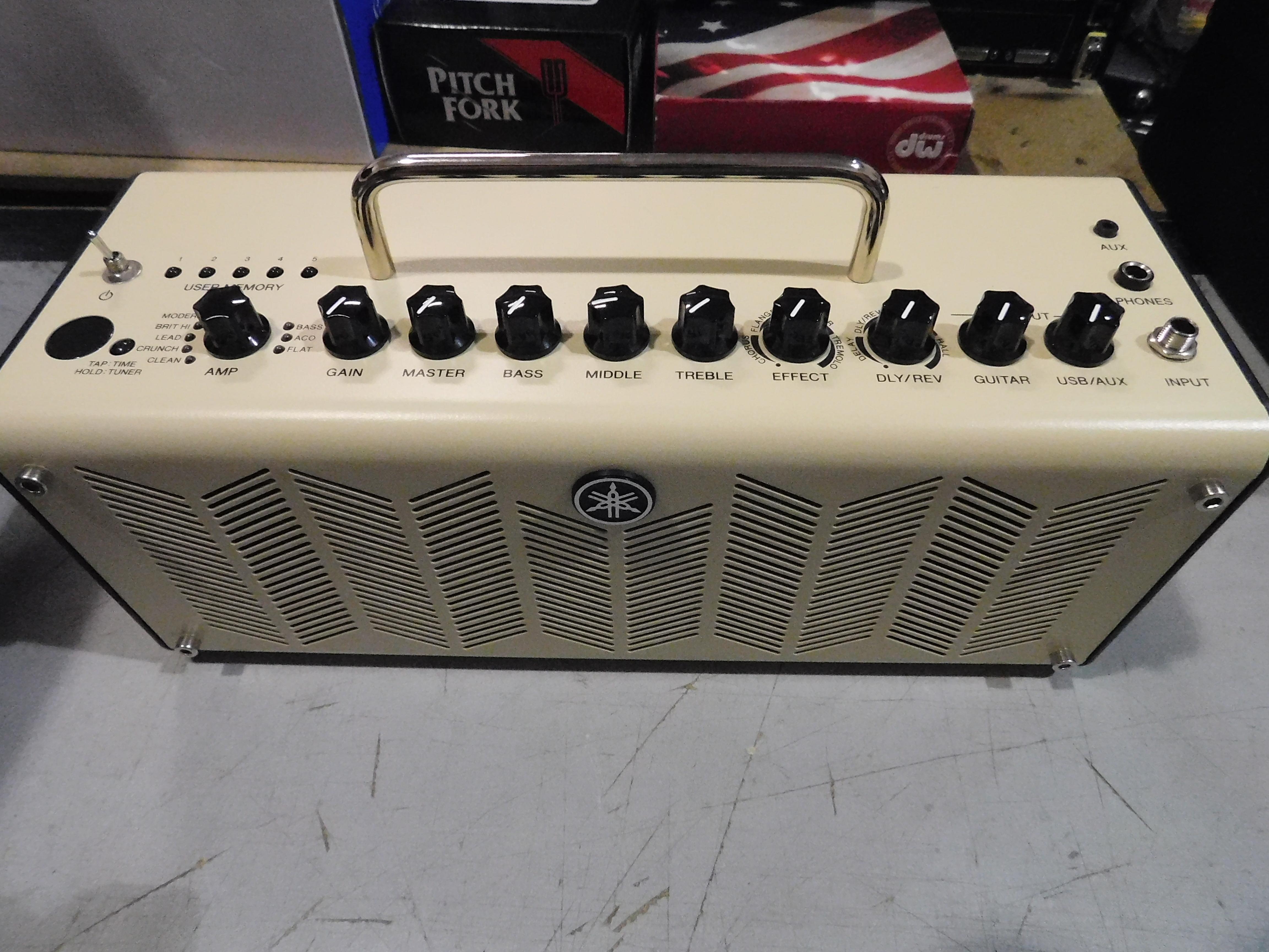 YAMAHA THR10 Modeling Combo Amp with Power Supply!