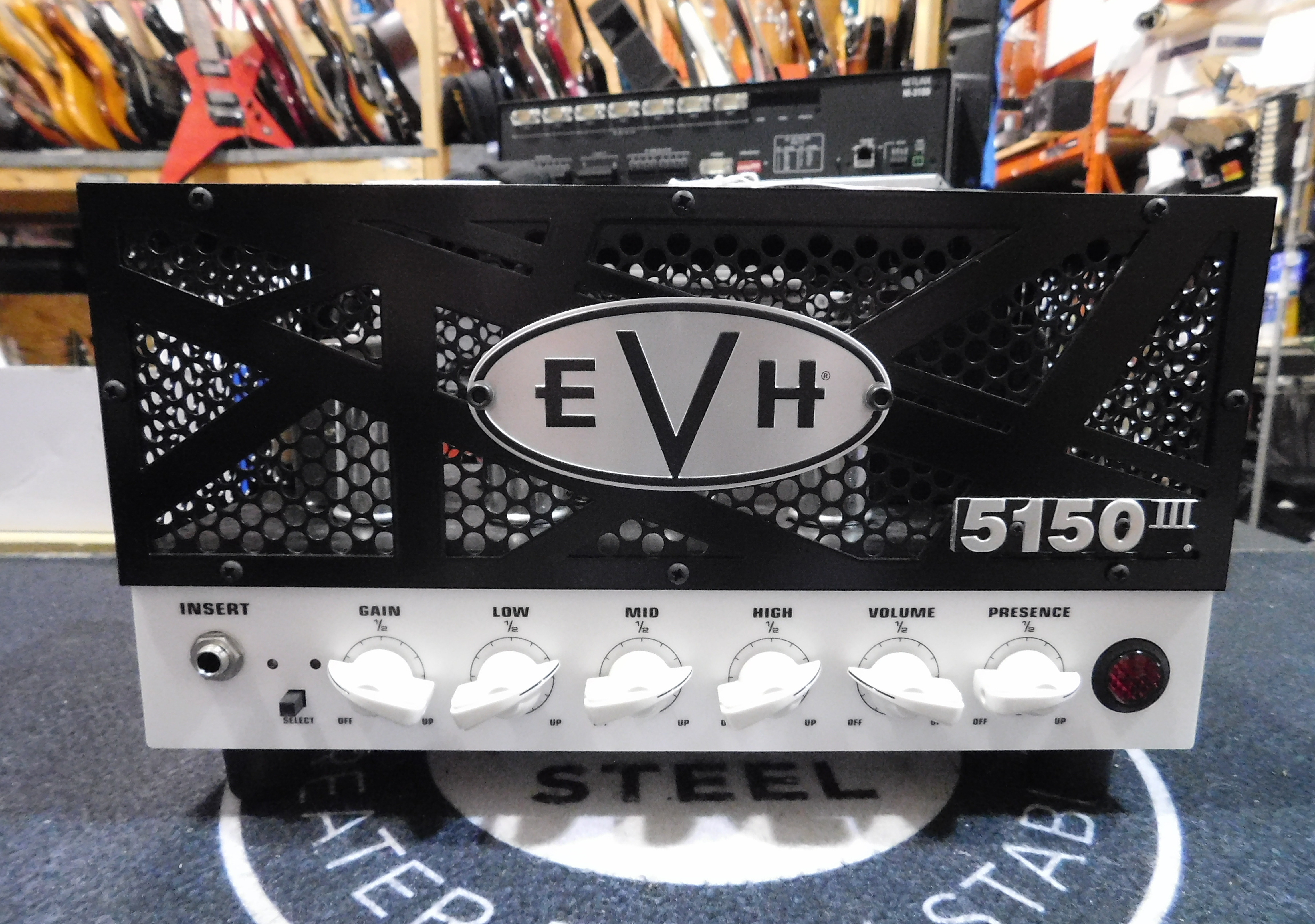 EVH 5150III 15W Lunchbox Tube Guitar Amp Head with Carrying Bag/Case!