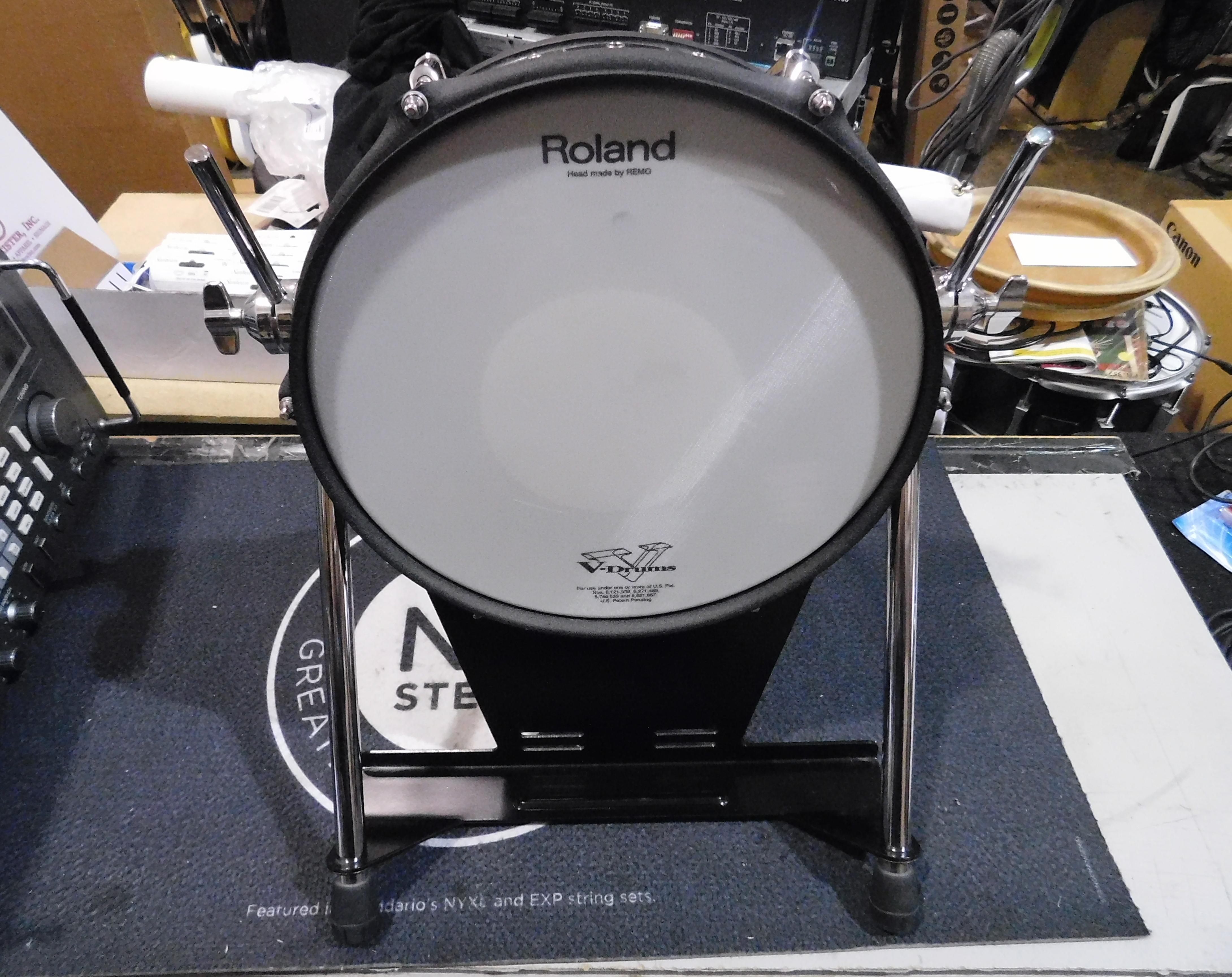 ROLAND KD-120 V-Kick Trigger Pad Drum Trigger