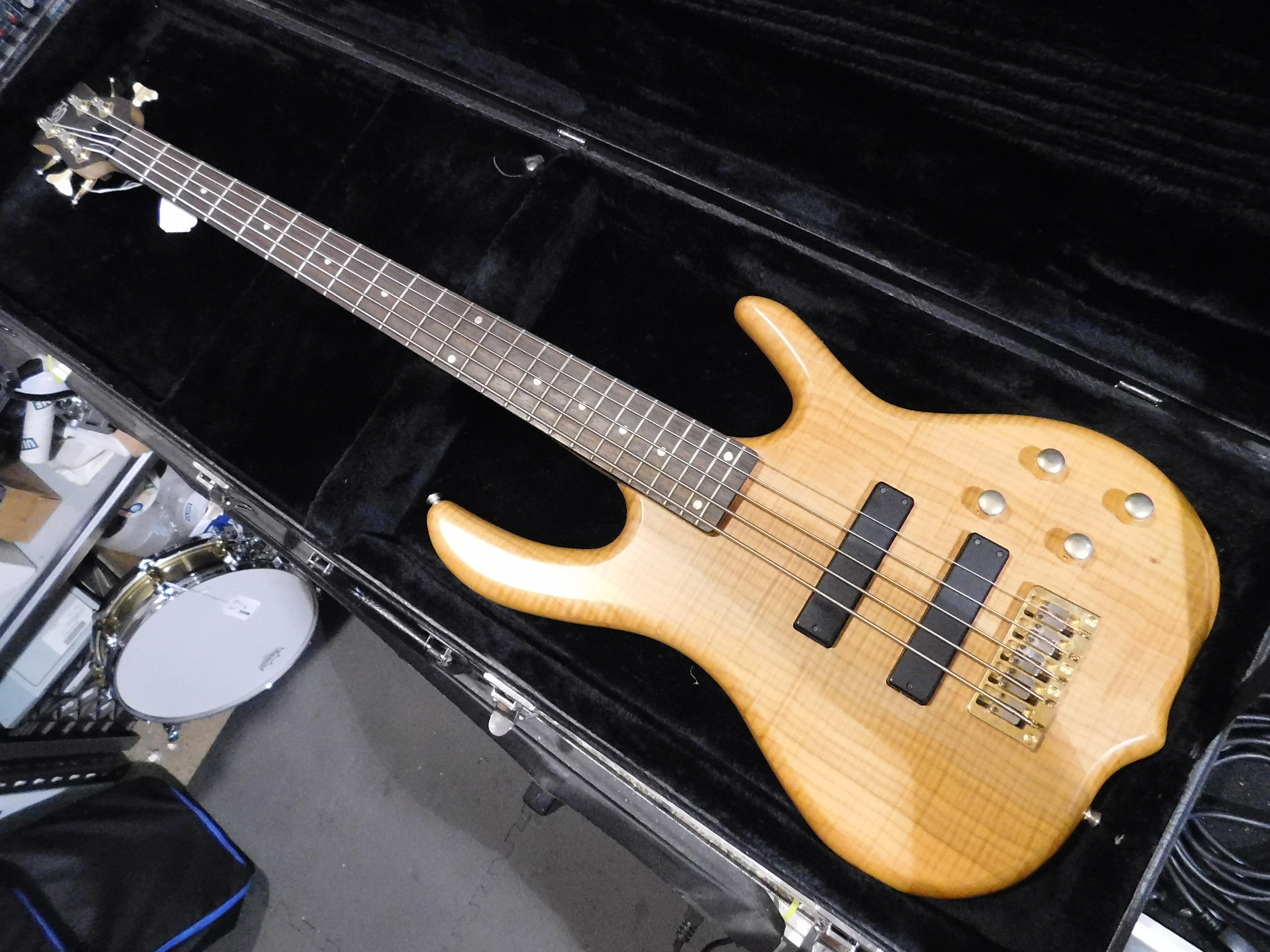 KSD BURNER 5 5-String Electric Bass **HSC** Natural Finish