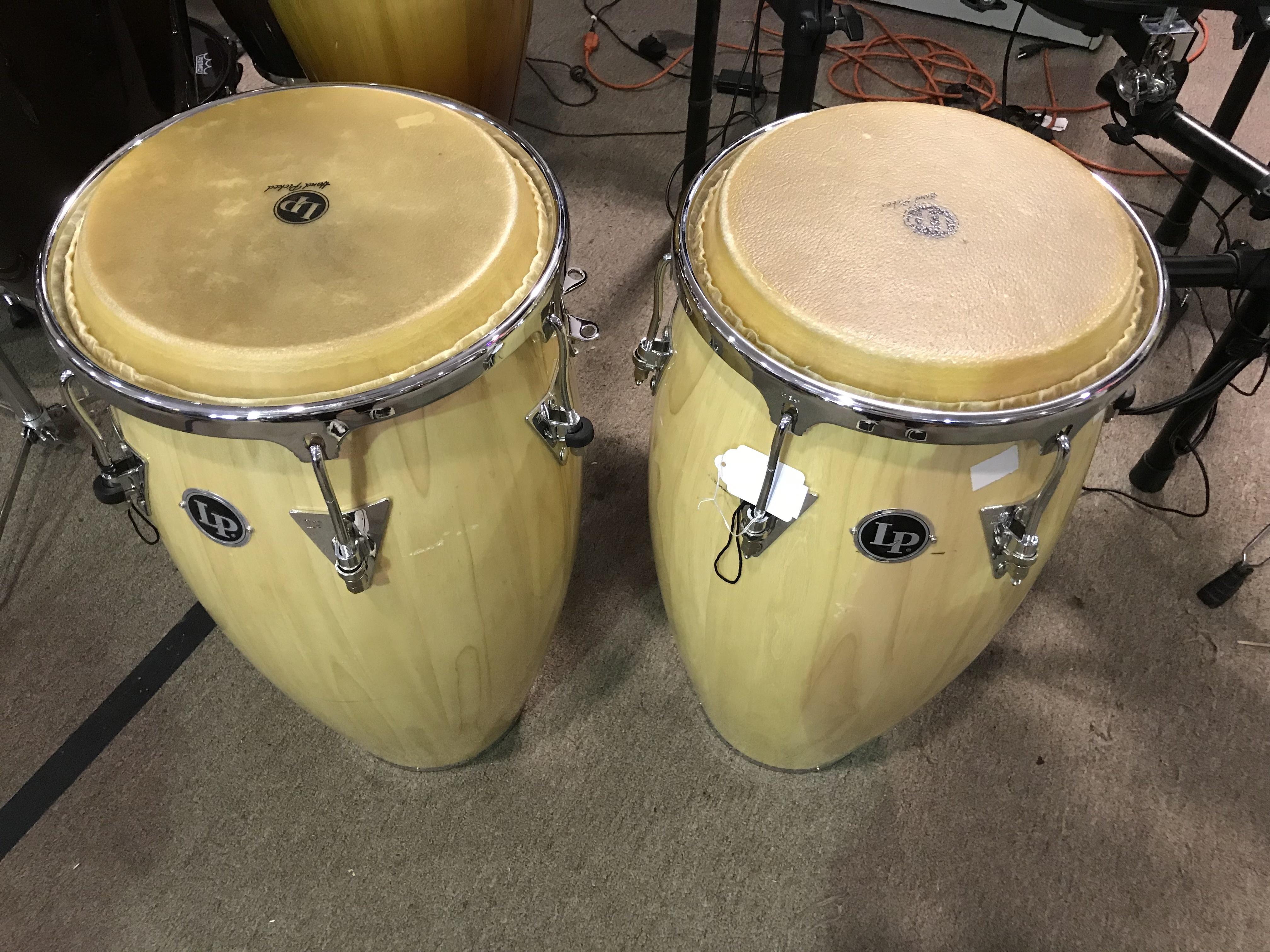 L.P. Classic II Conga Drums Pair