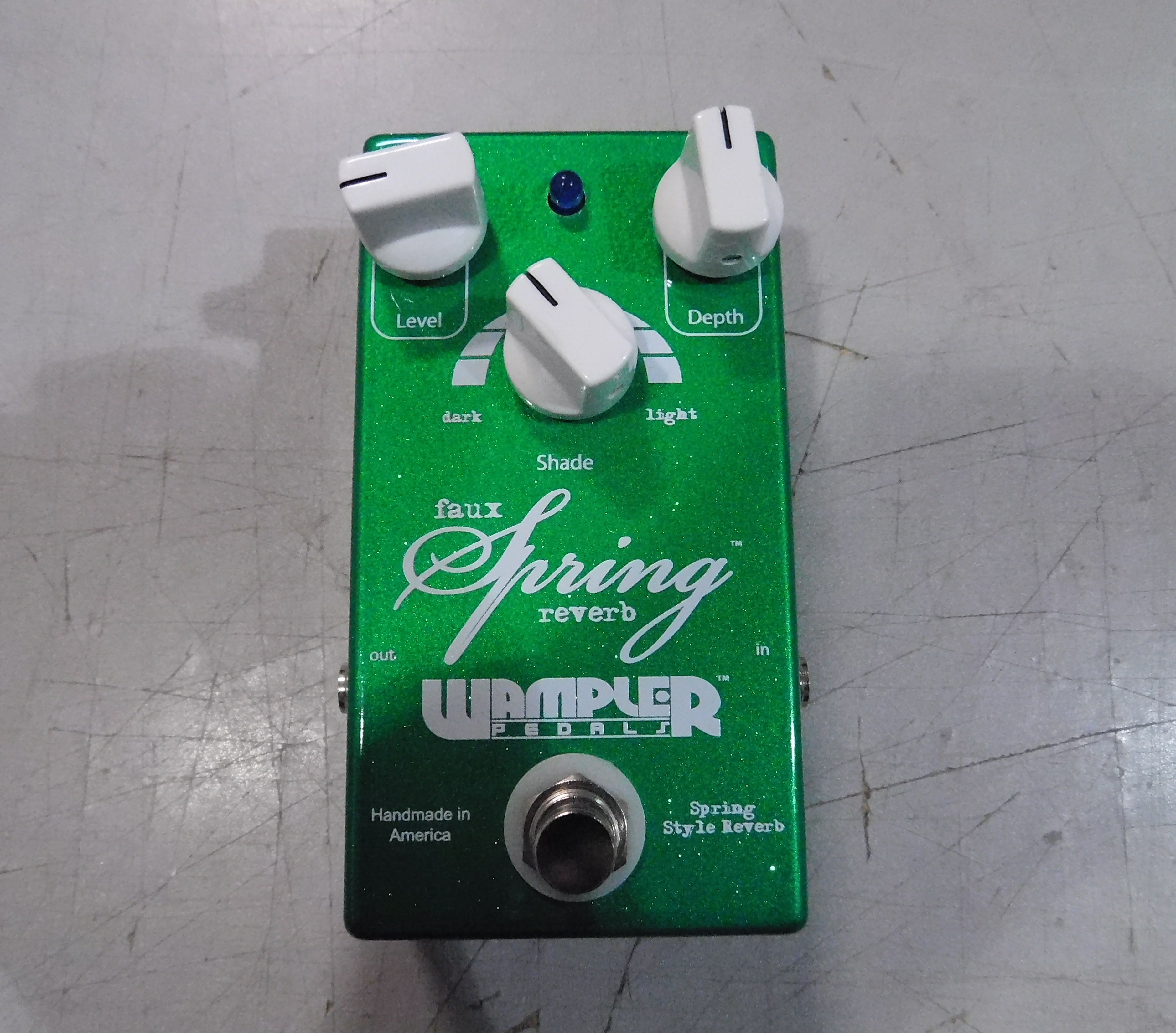 WAMPLER FAUX SPRING REVERB Guitar Effect Pedal