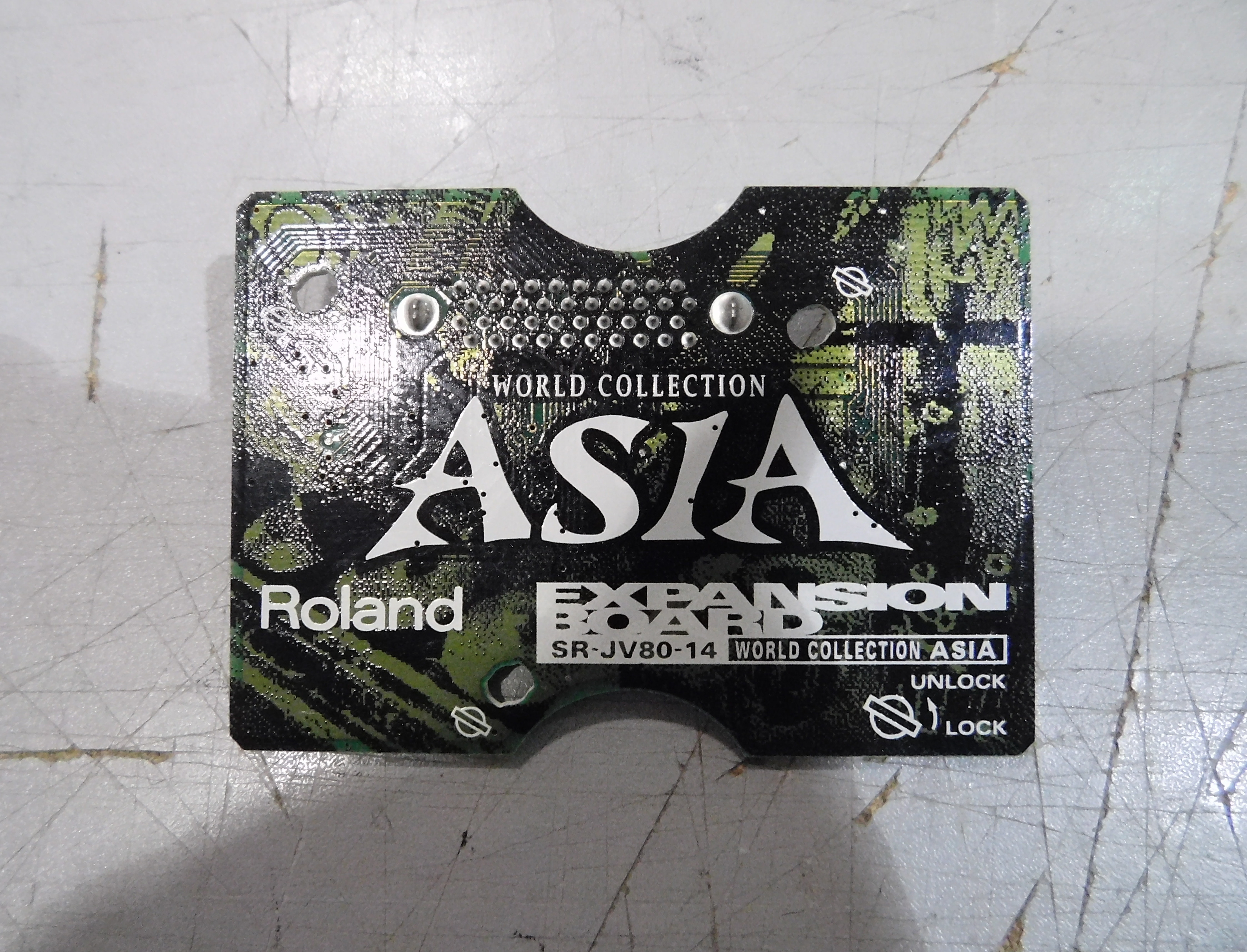 ROLAND SR-JV80-14 WORLD COLLECTION ASIA Expansion Board