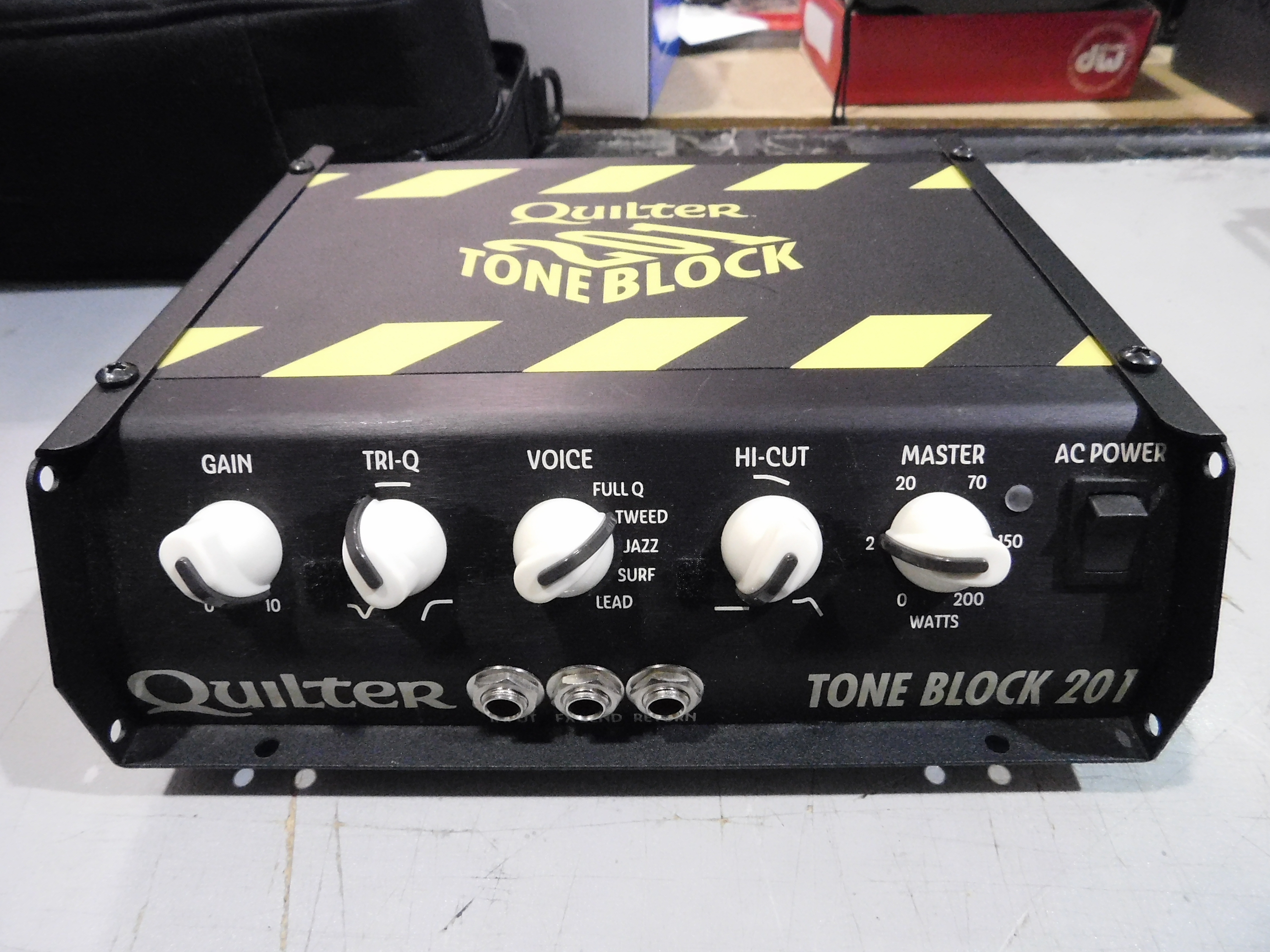 QUILTER LABS TONE BLOCK 201 TB201-HEAD 200W Guitar Amp Head with Bag!