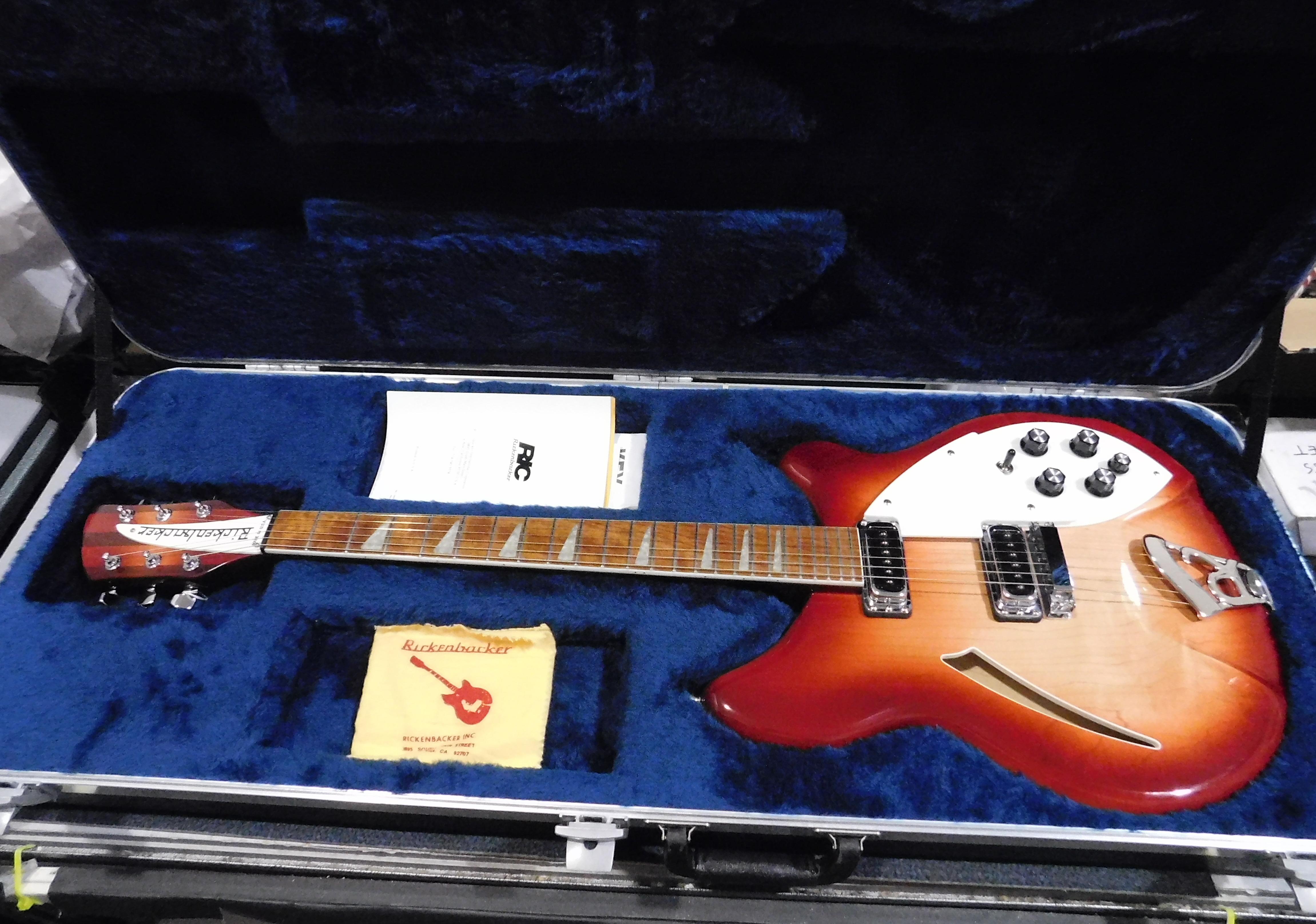 1996 RICKENBACKER 360 Electric Guitar **HSC** Fireglo