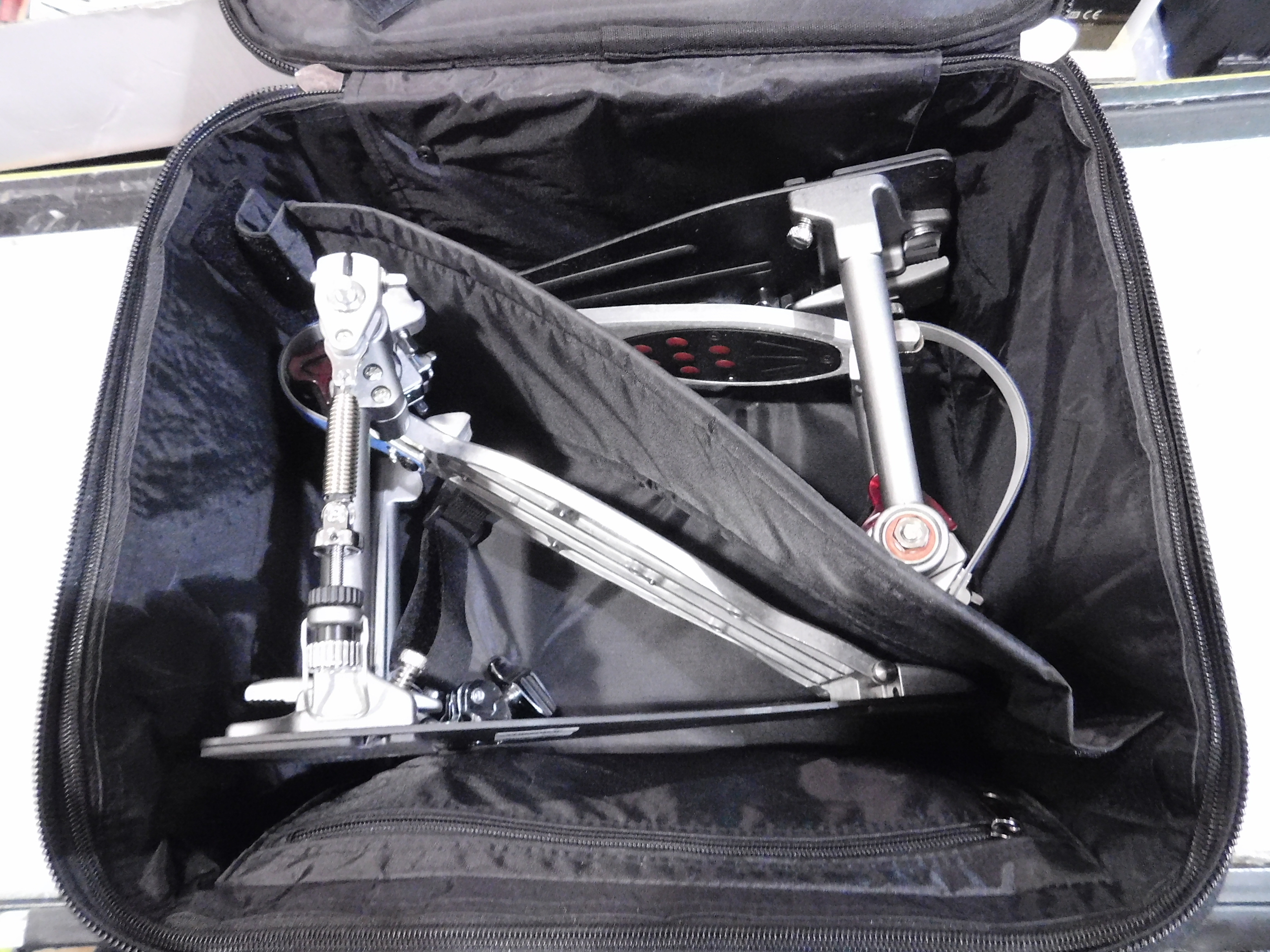 PEARL Eliminator Redline Double Bass Drum Pedal with Case