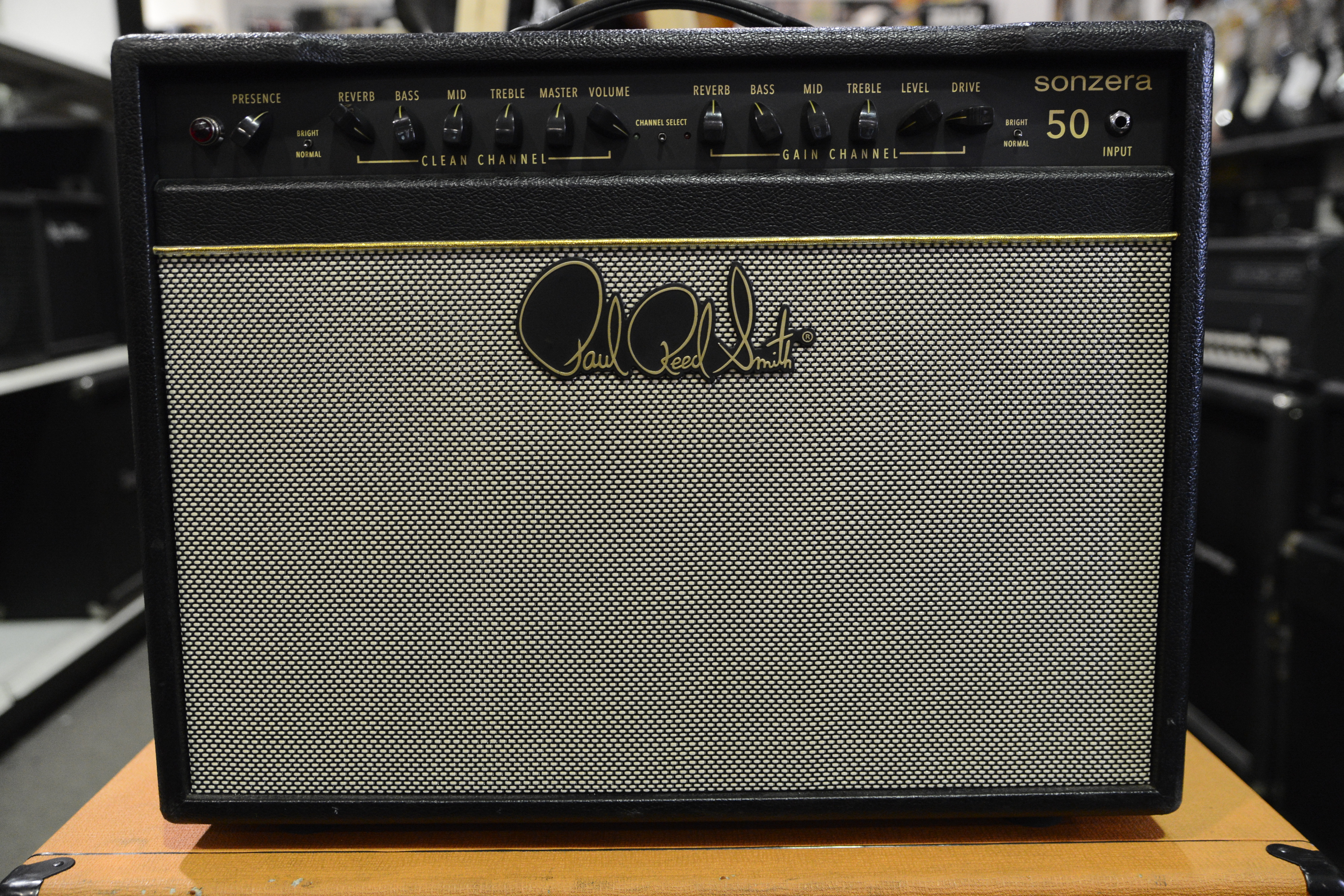 PAUL REED SMITH PRS SONZERA 50 1x12 GUITAR COMBO TUBE AMPLIFIER