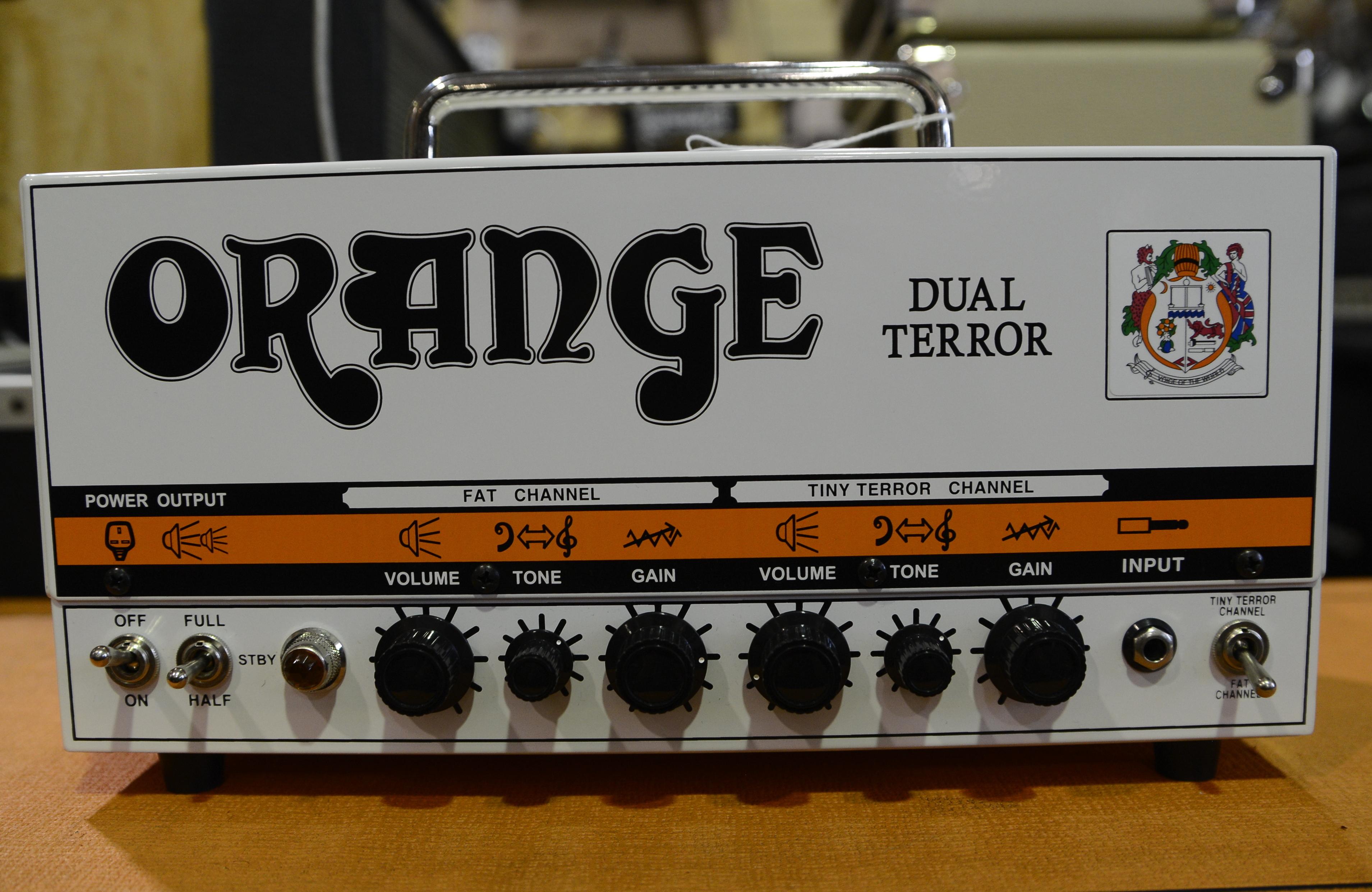 ORANGE DUAL TERROR DT-30 Tube Guitar Amplifier Head