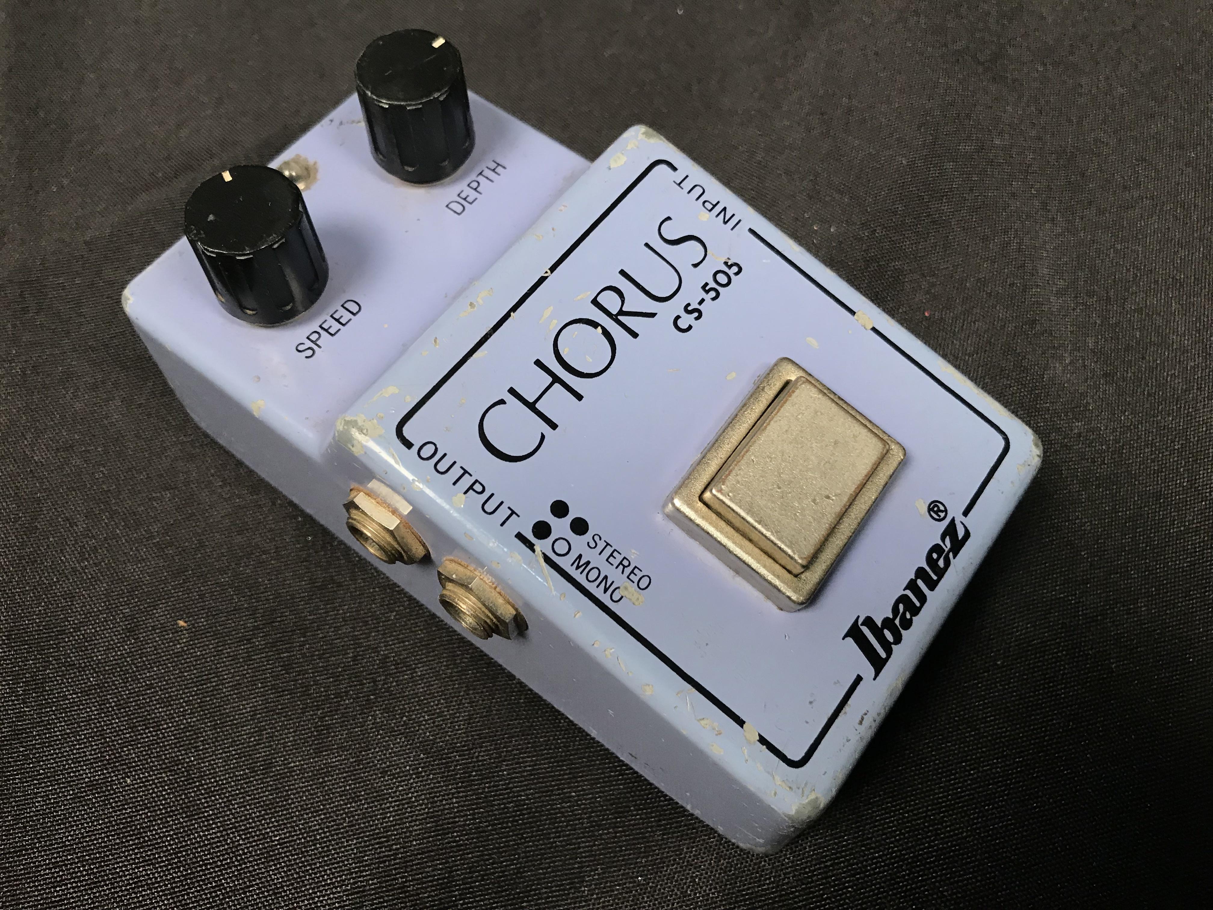 IBANEZ CS-505 MIJ 1980 Stereo Chorus Effect Pedal