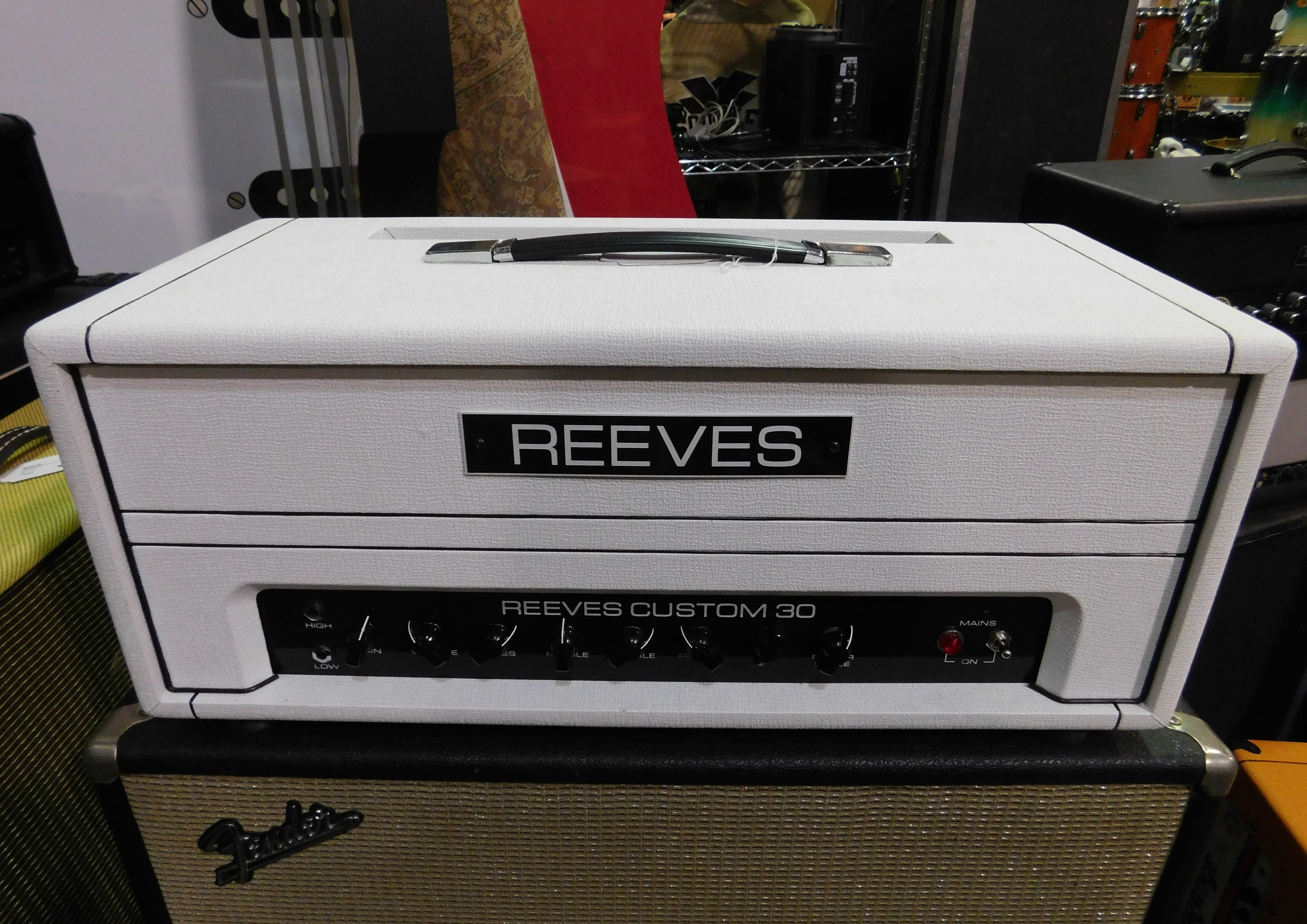REEVES CUSTOM 30 Boutique 30-watt Tube Amp Head