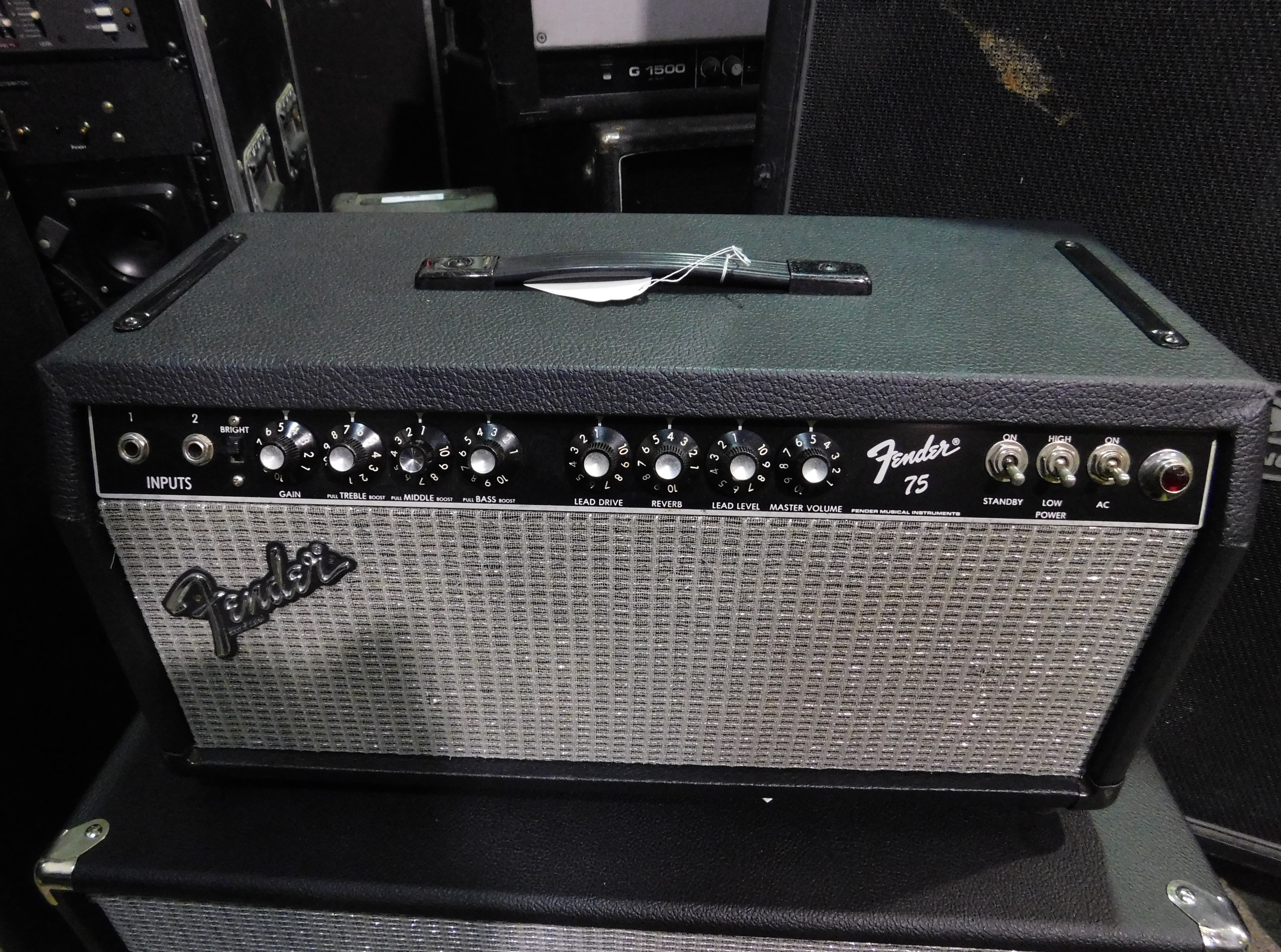 FENDER 75 Tube Guitar Amp Head - LOCAL PICKUP ONLY!