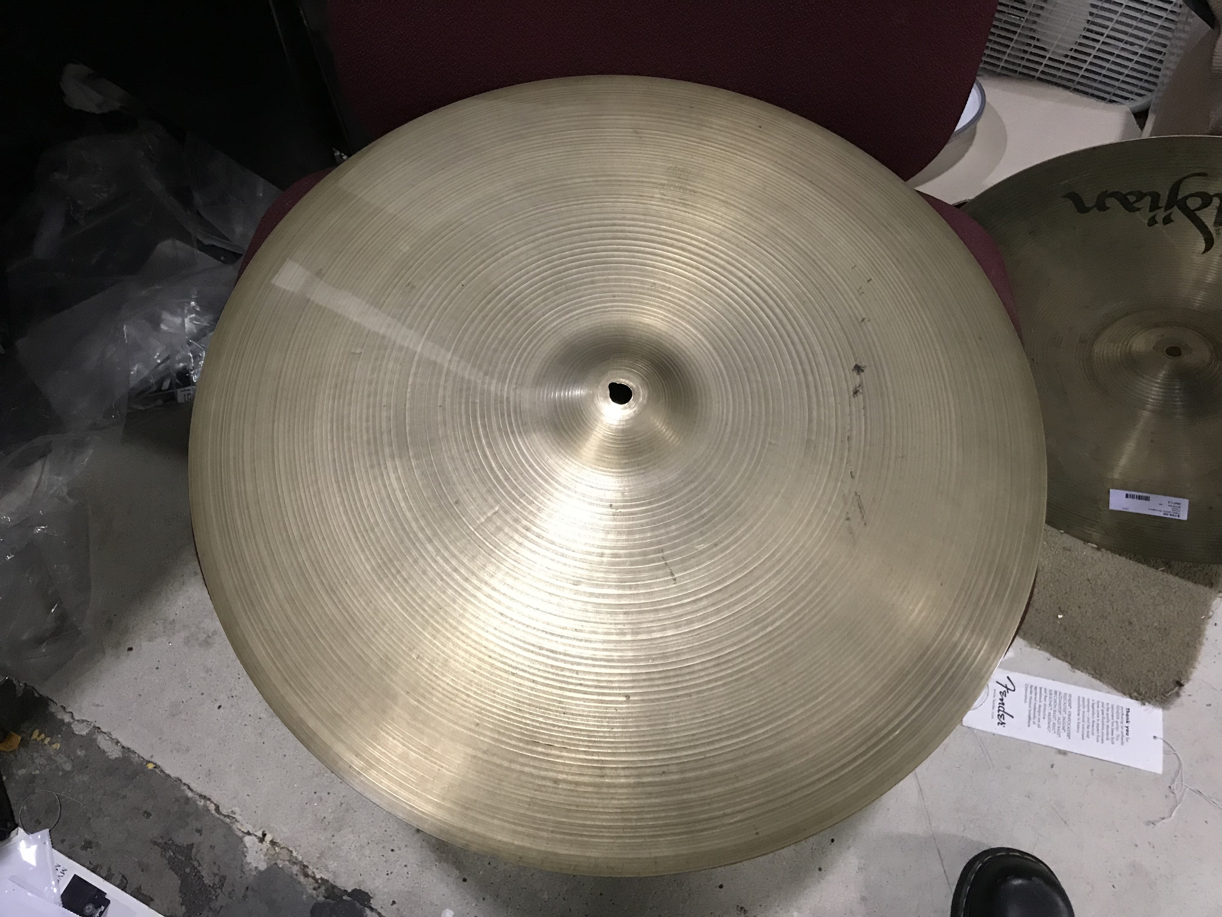 ZILDJIAN 20 MINI CUP RIDE 20