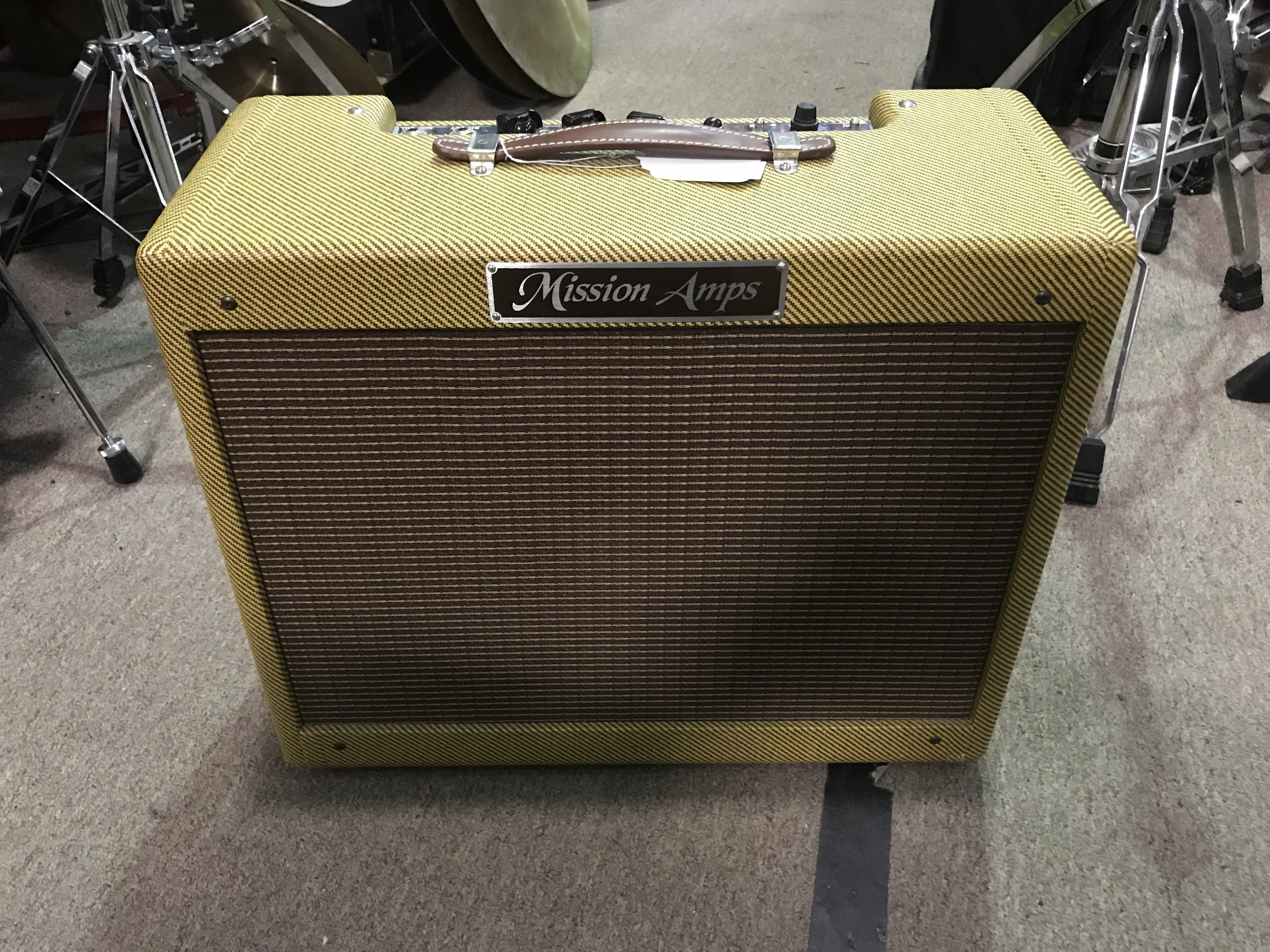 MISSION TWEED DELUXE 5E3 15W 1X12 Tube Combo Guitar Amplifier