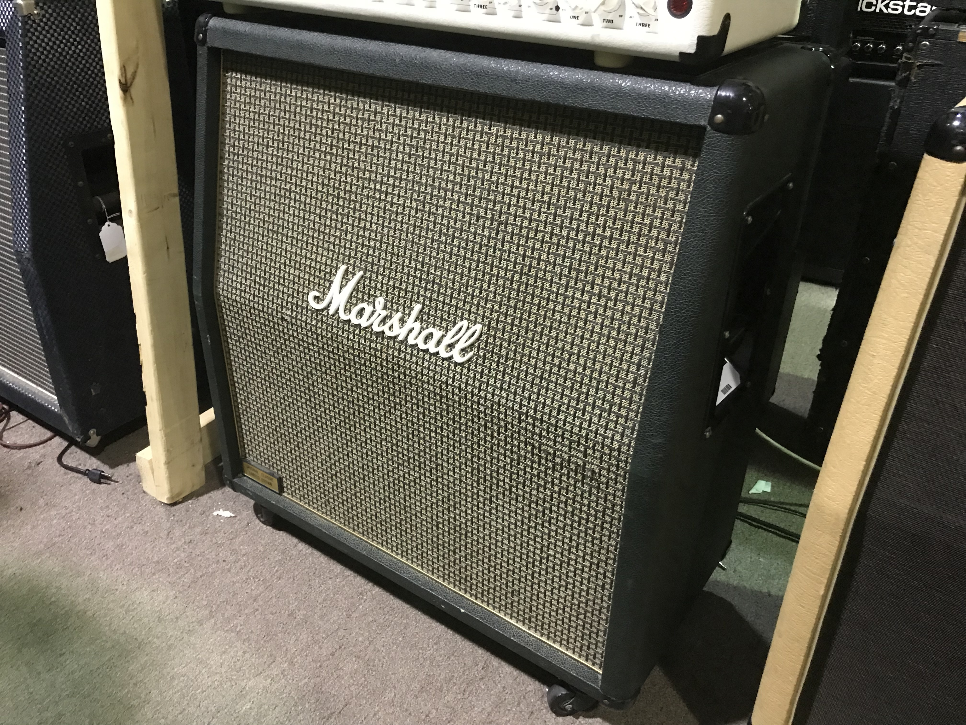RARE MARSHALL ORIGINAL CLASSIC Limited 1960A 4x12 1980s JCM800 Amplifier Cabinet