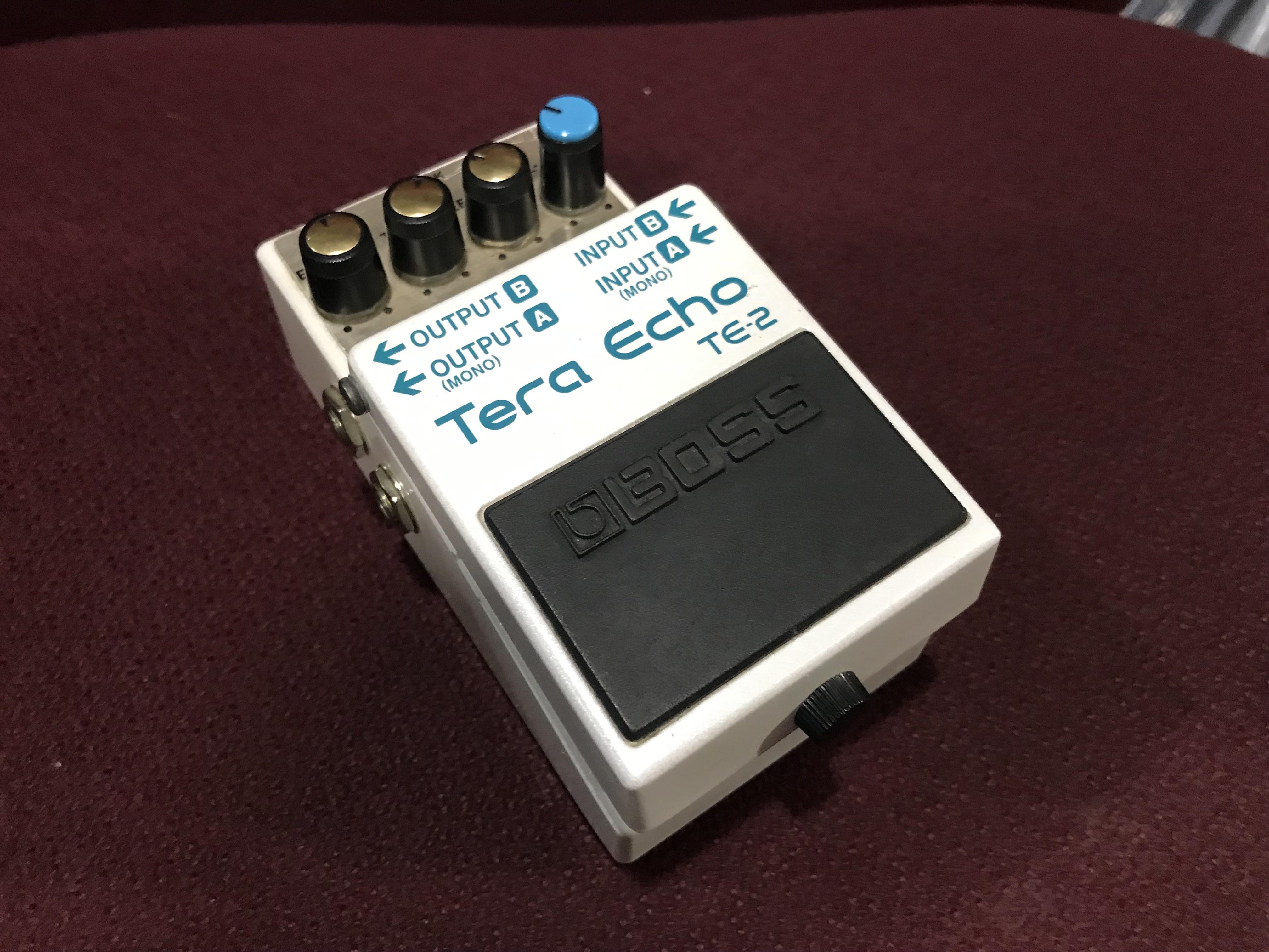 BOSS TE-2 Tera Echo RARE Delay Effect Pedal