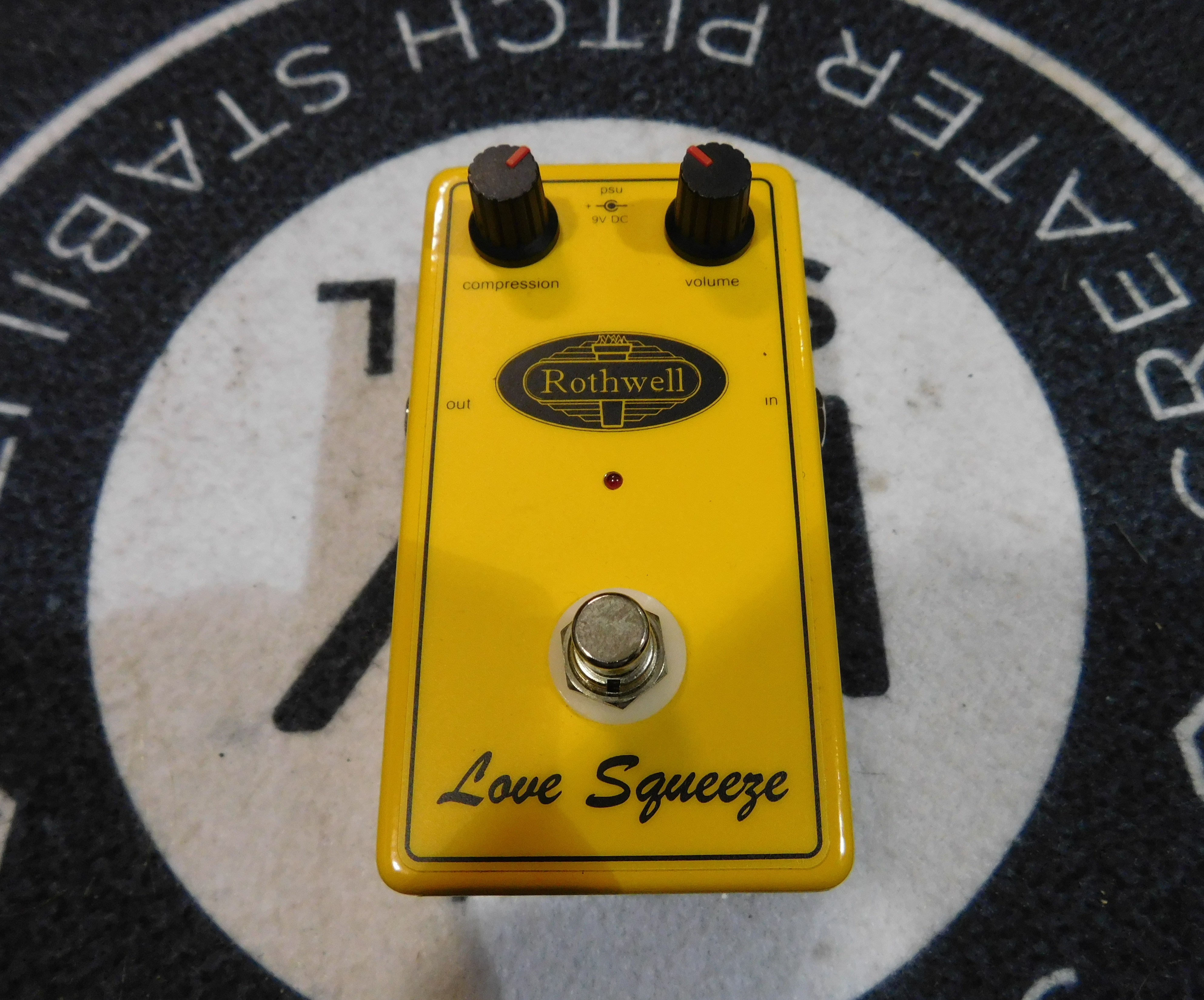 ROTHWELL LOVE SQUEEZE Compressor Effect Pedal