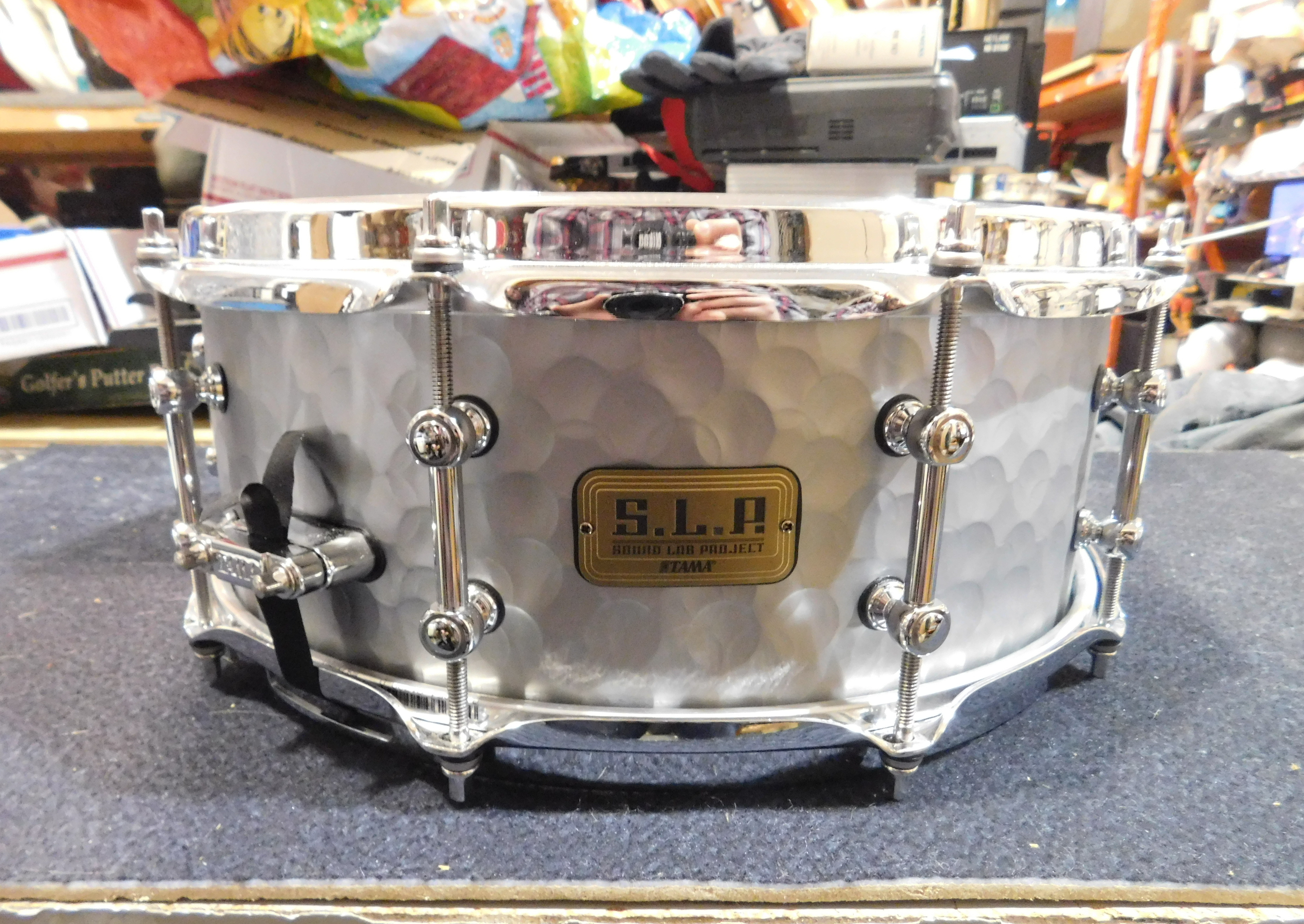 TAMA S.L.P. Hammered Steel Snare Drum 14