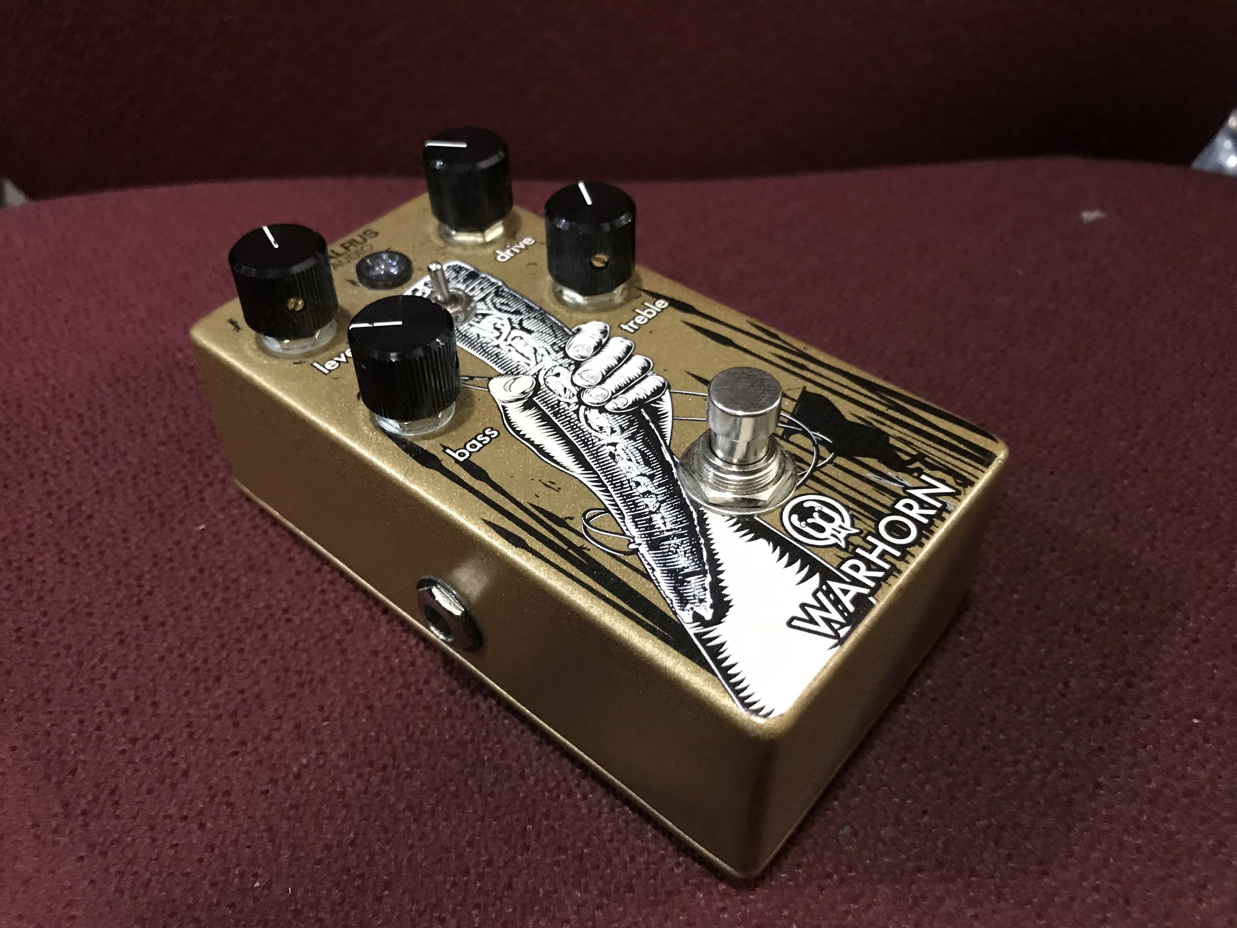 WALRUS AUDIO WARHORN Overdrive Effect Pedal