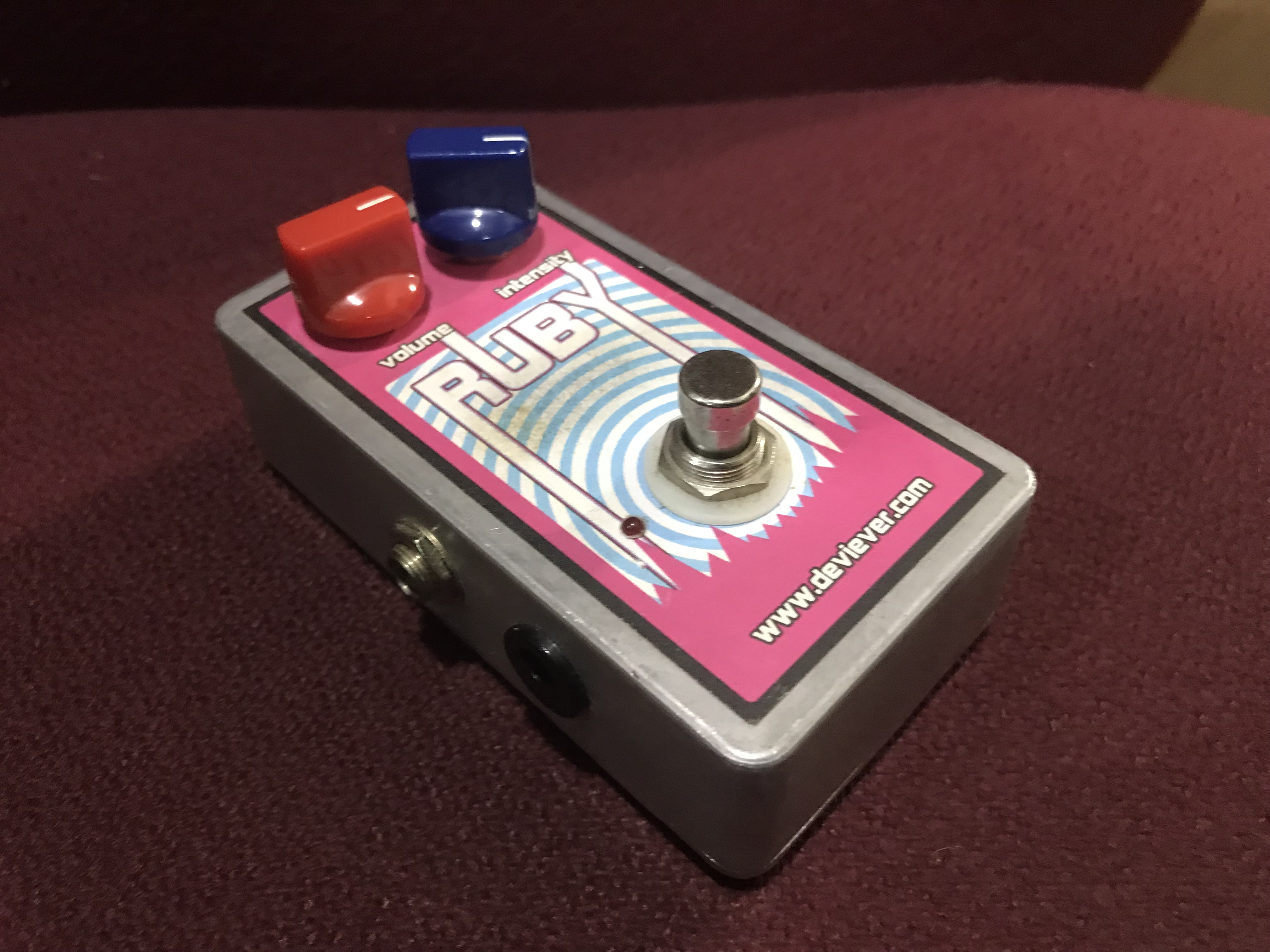 DEVI EVER RUBY Handmade Disaster Fuzz Effect Pedal