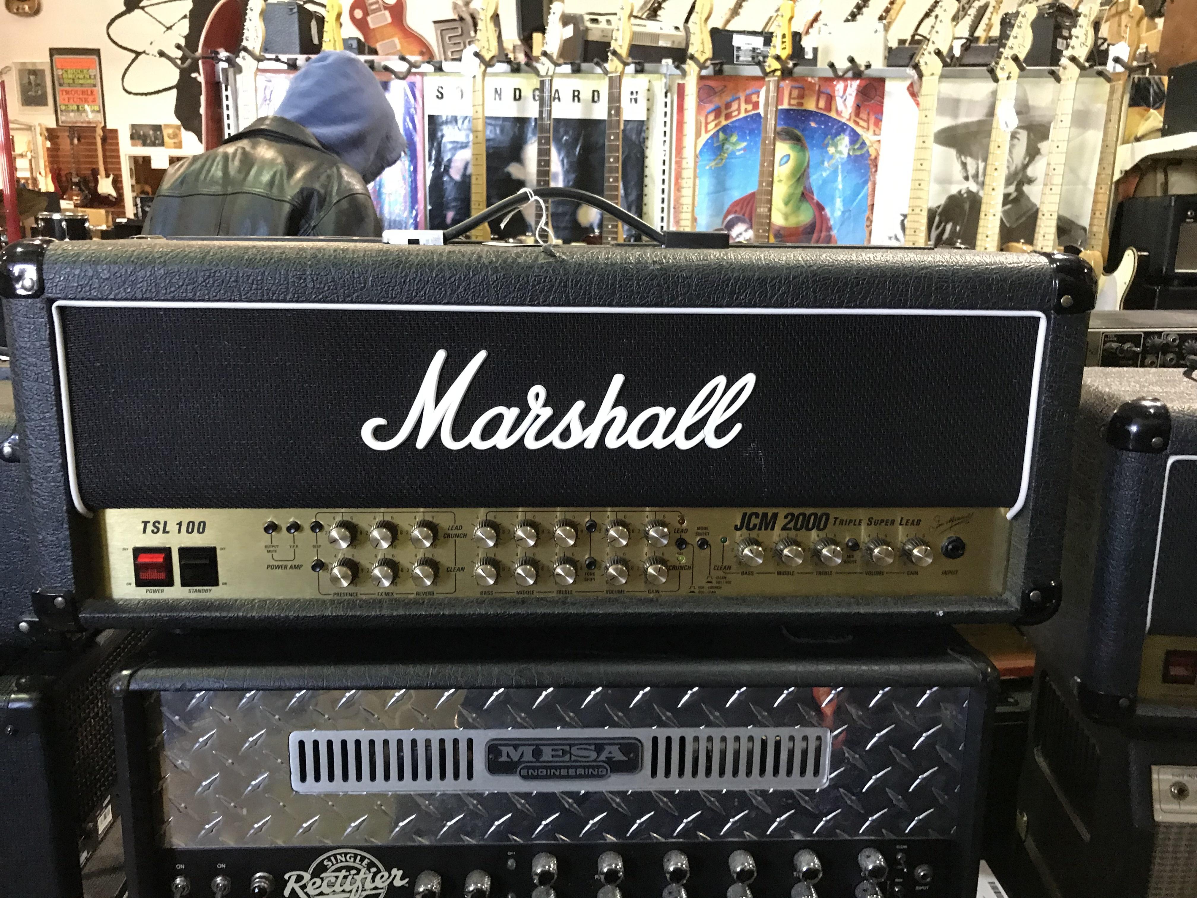 MARSHALL JCM 2000 Triple Super Lead 60W Tube Guitar Amplifier Head