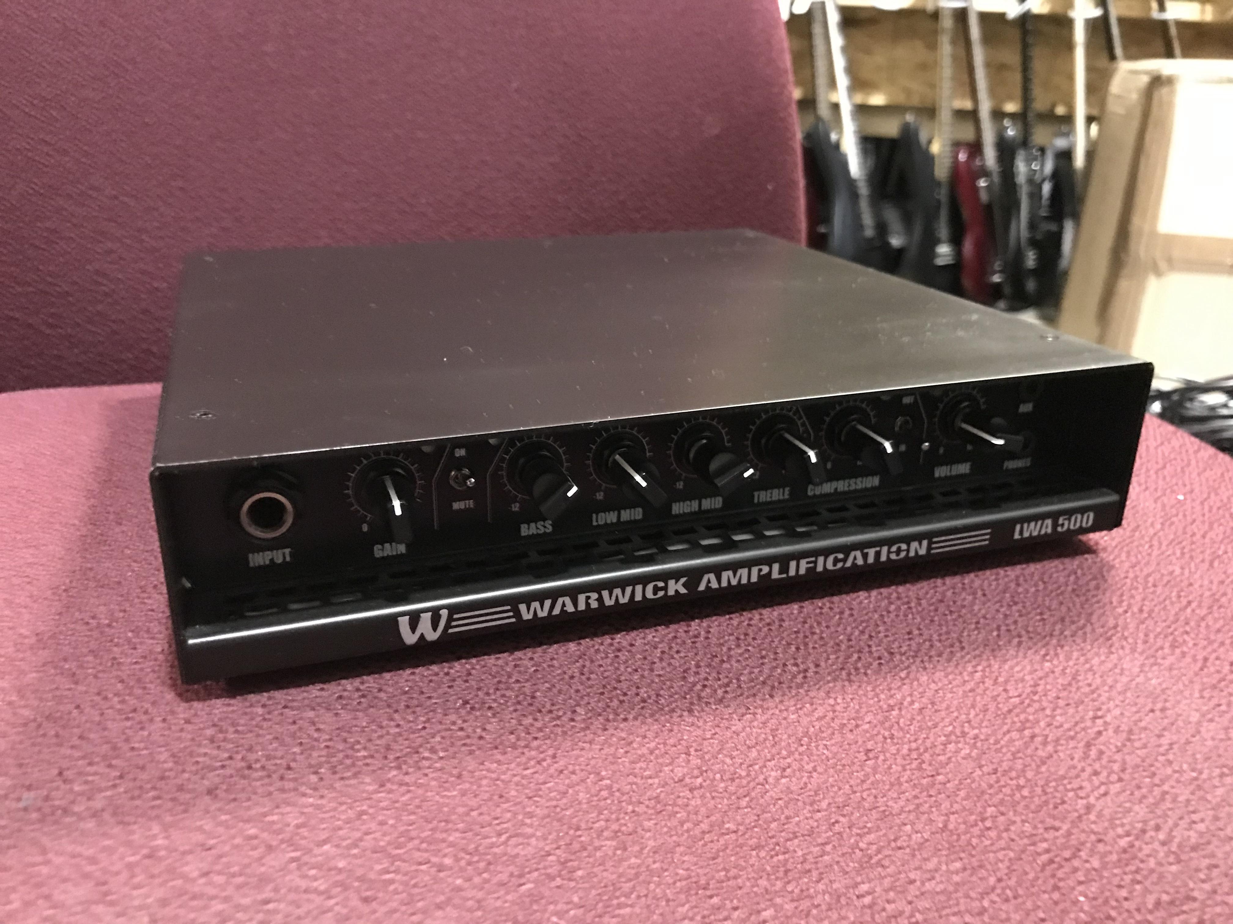 WARWICK LWA 500 Bass Amplifier Head