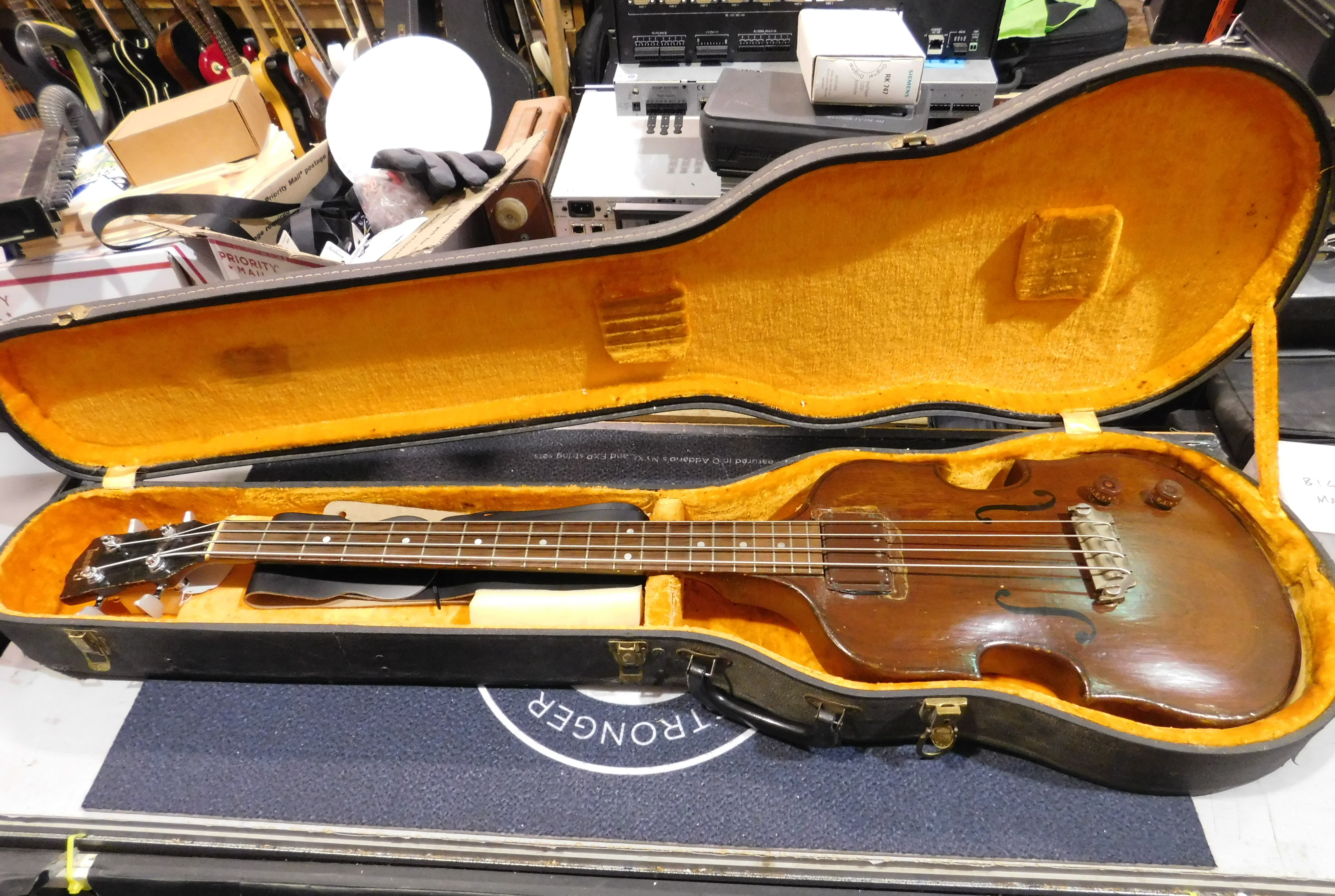 1950's GIBSON EB Bass Vintage 4-String Electric Bass - LOCAL PICKUP ONLY!