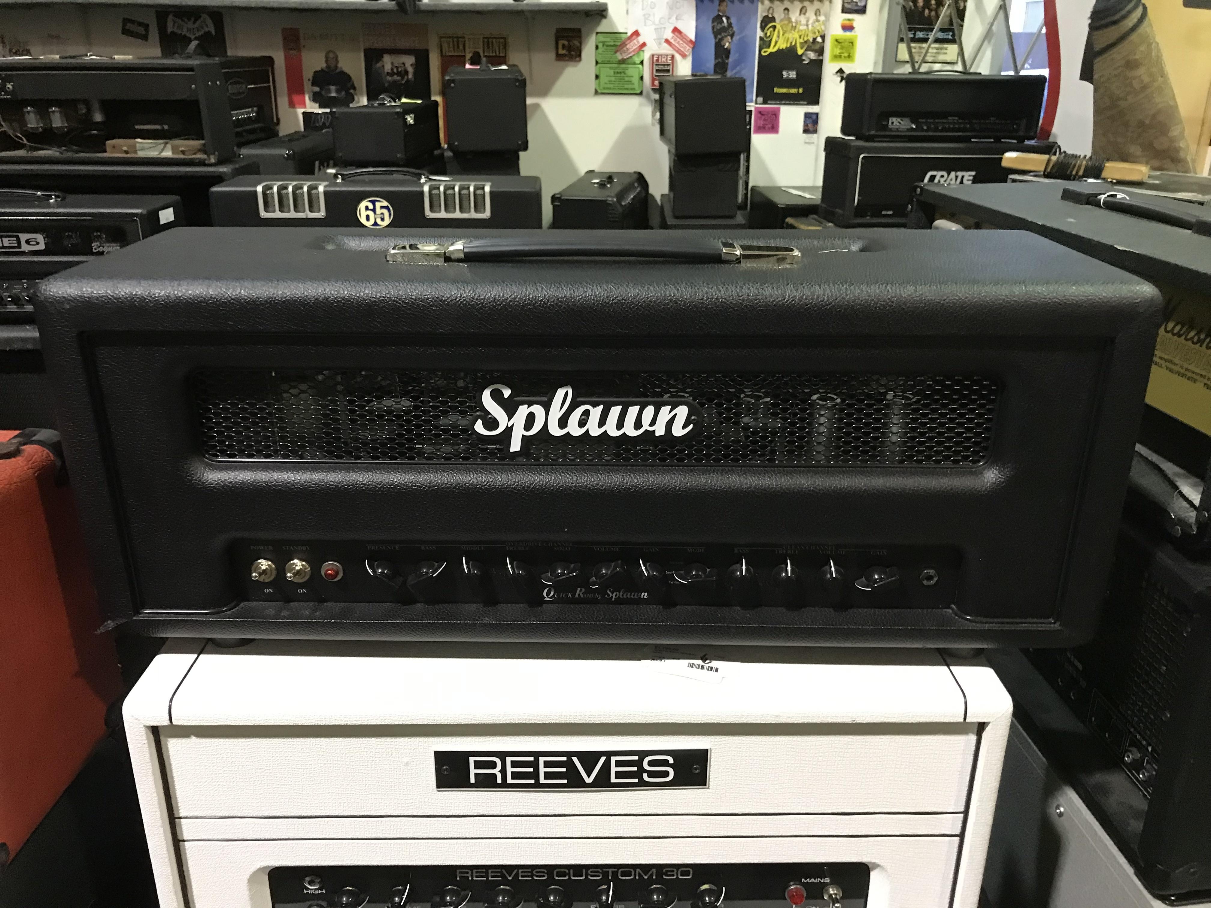 SPLAWN QUICKROD 50W Tube Guitar Amplifier Head
