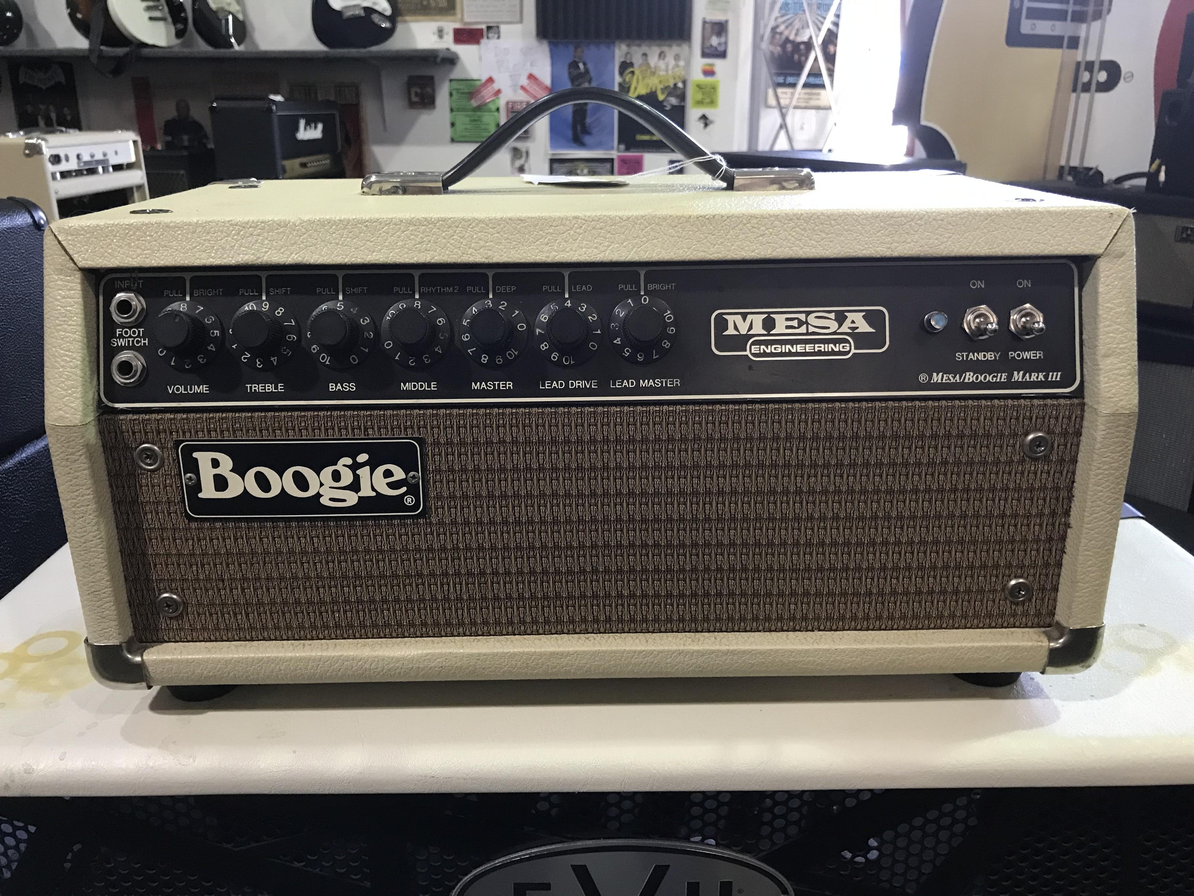 MESA BOOGIE MARK III 60W Blonde No EQ Tube Guitar Amplifier Head