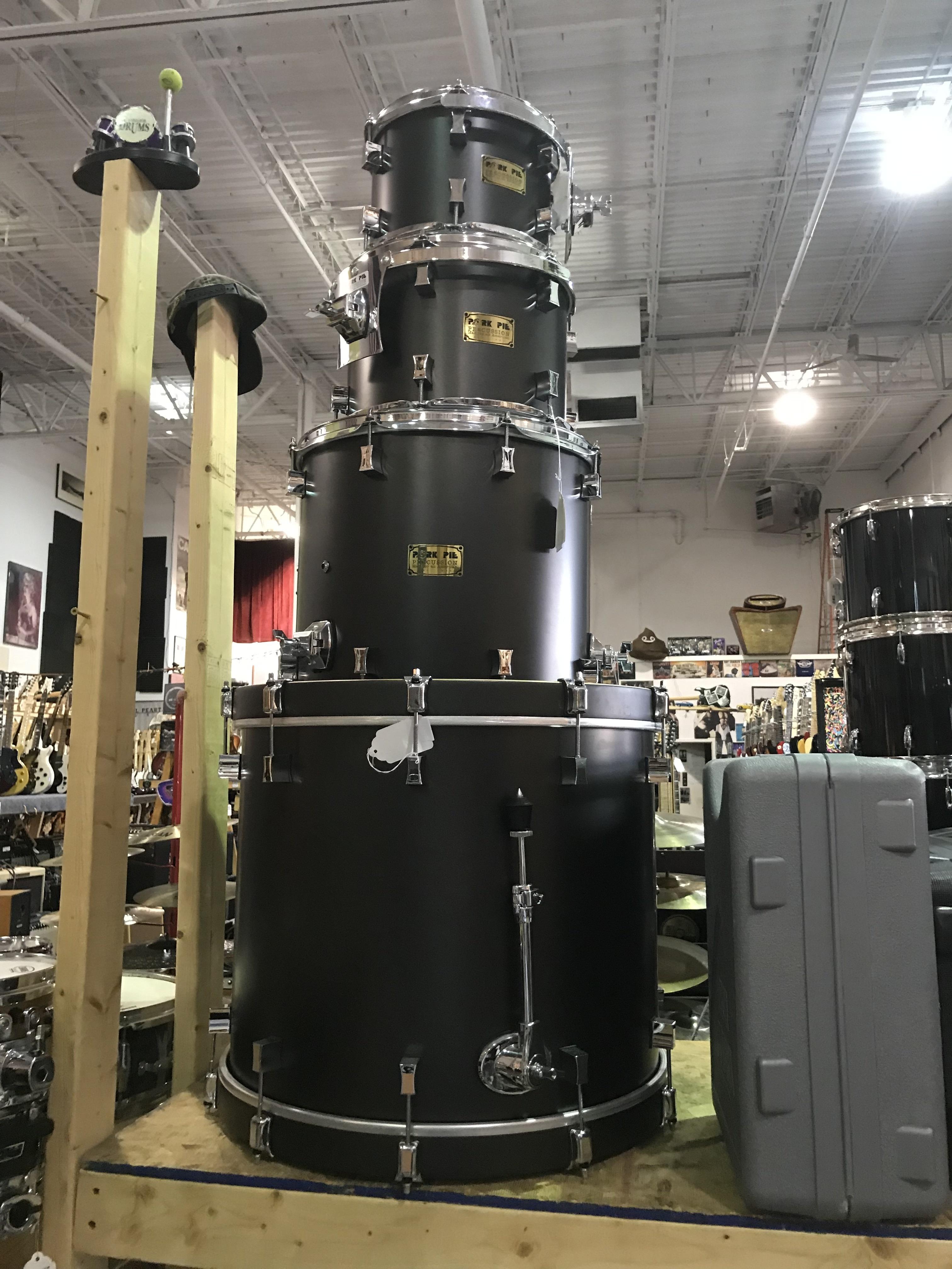 PORK PIE LITTLE SQUEALER 4 Piece Shell Drum Kit