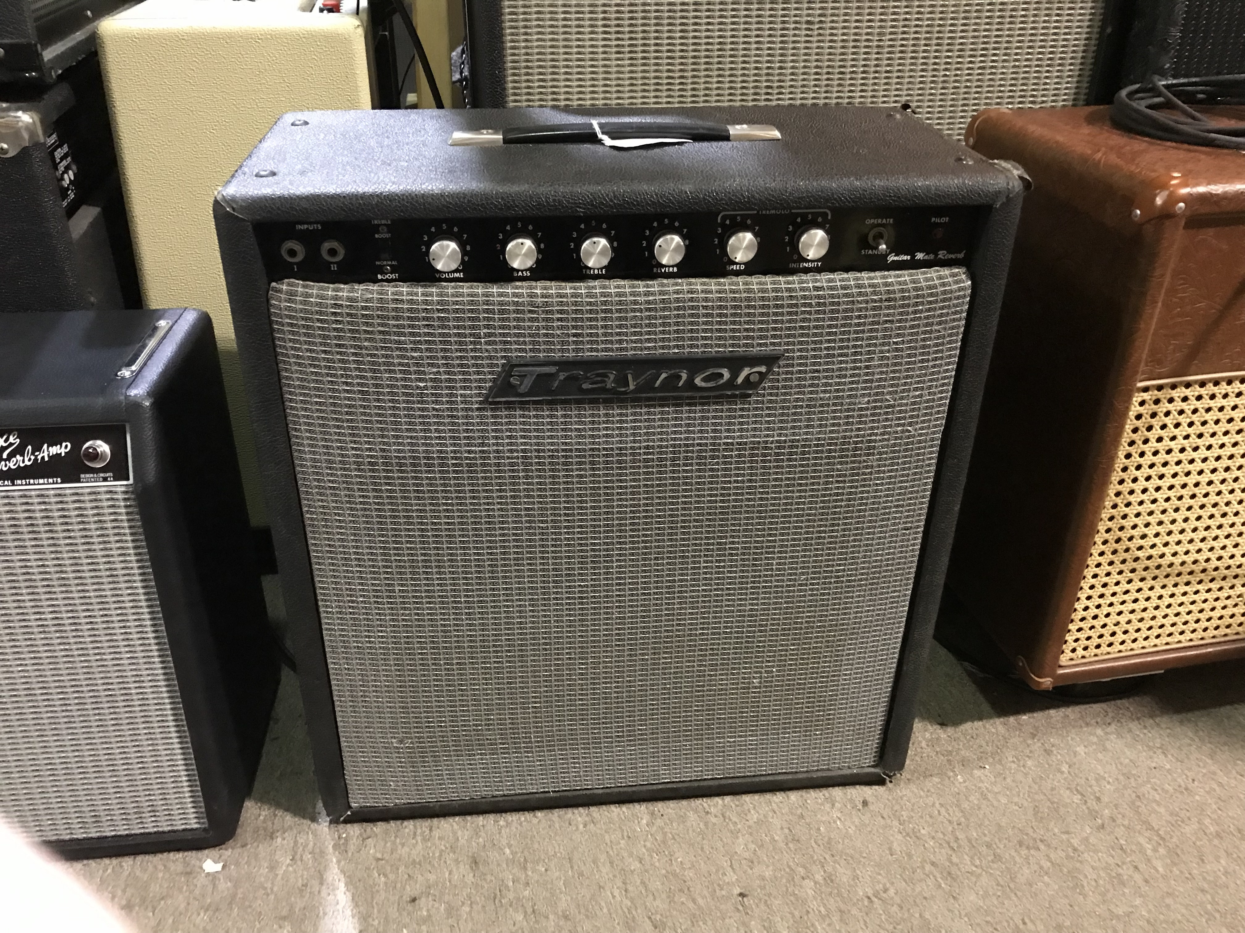 TRAYNOR GUITAR MATE REVERB YGM-3 20W 1X12 Tube Guitar Combo Amp