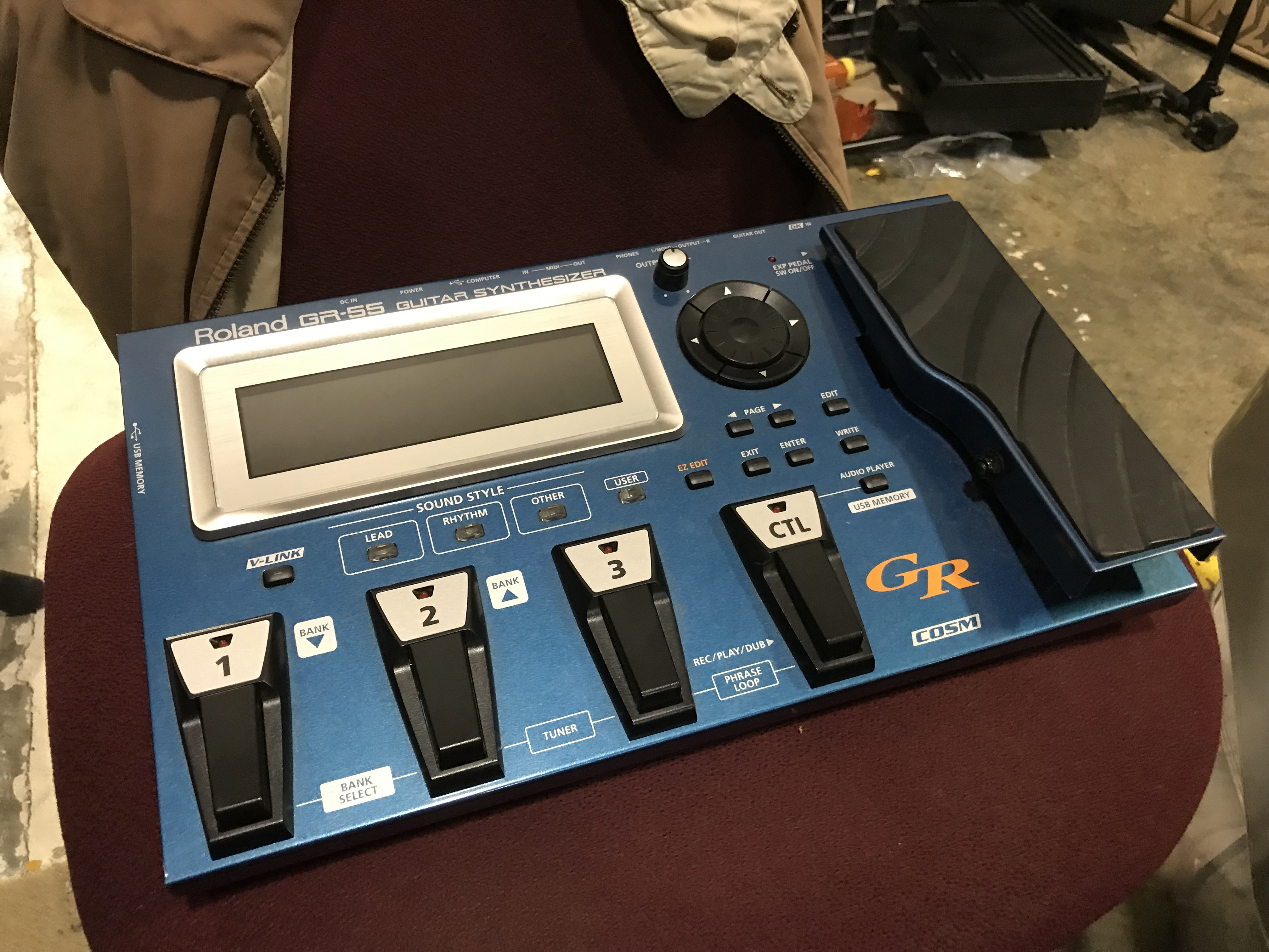BOSS GR-55 Guitar Synthesizer Effect Processor