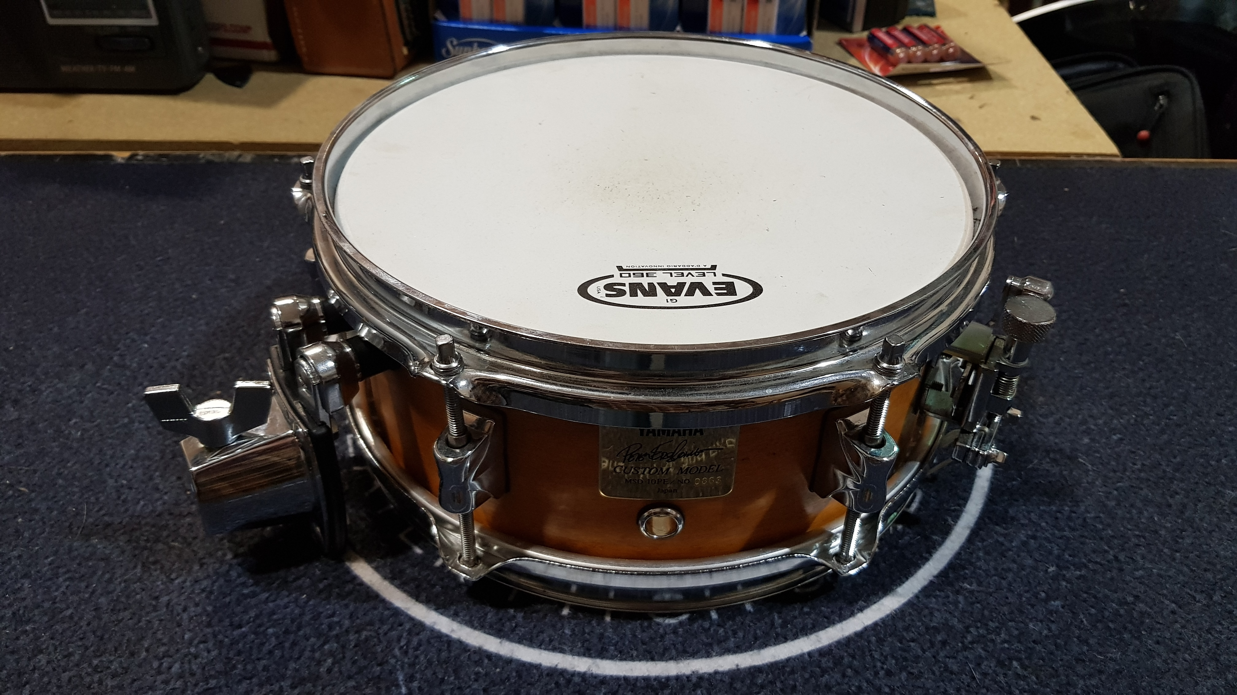 YAMAHA MSD-10PE PETER ERSKINE SIGNATURE CUSTOM MODEL 10