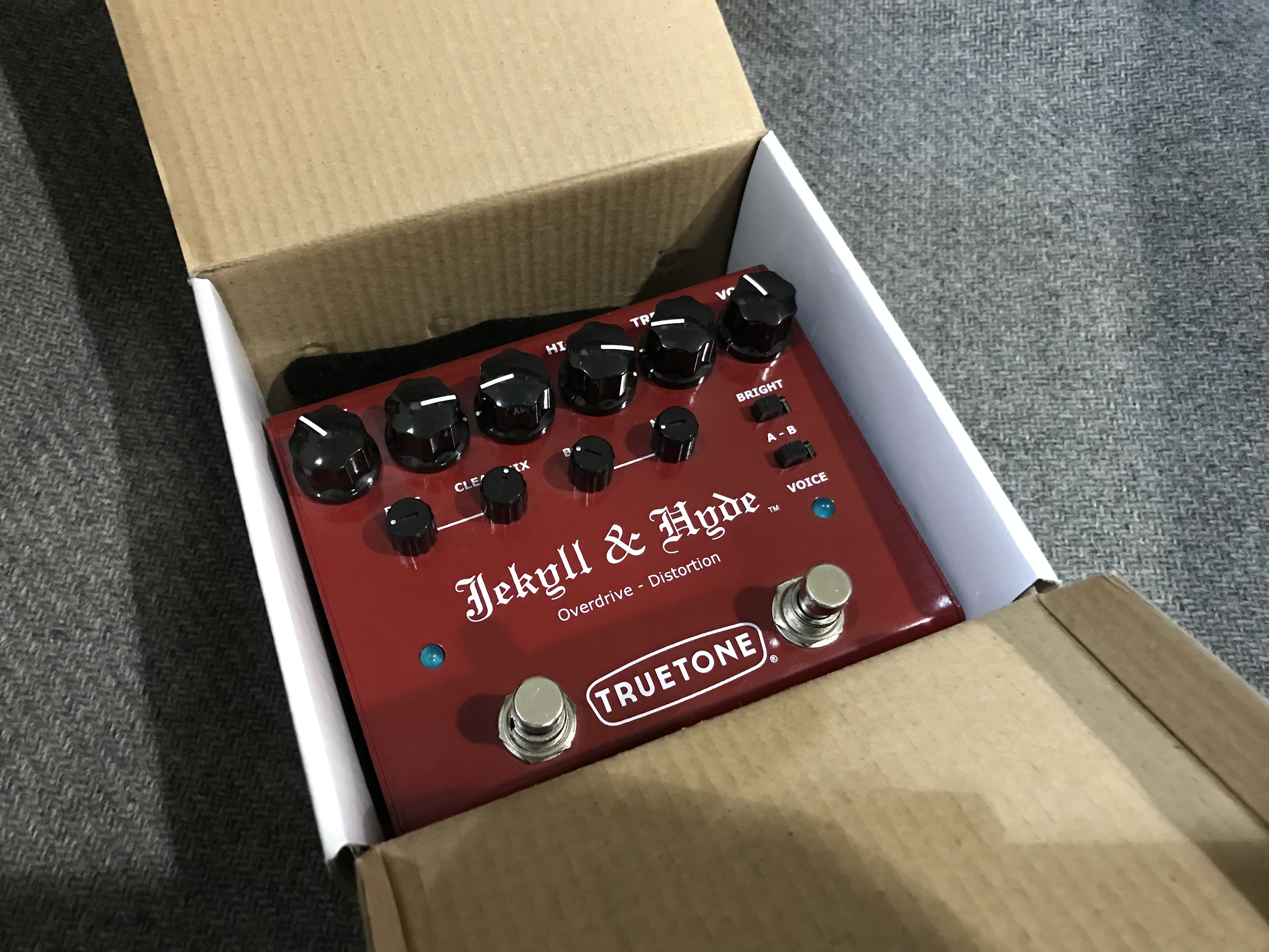 TRUETONE JEKYLL AND HYDE V3 Overdrive Distortion Effect Pedal
