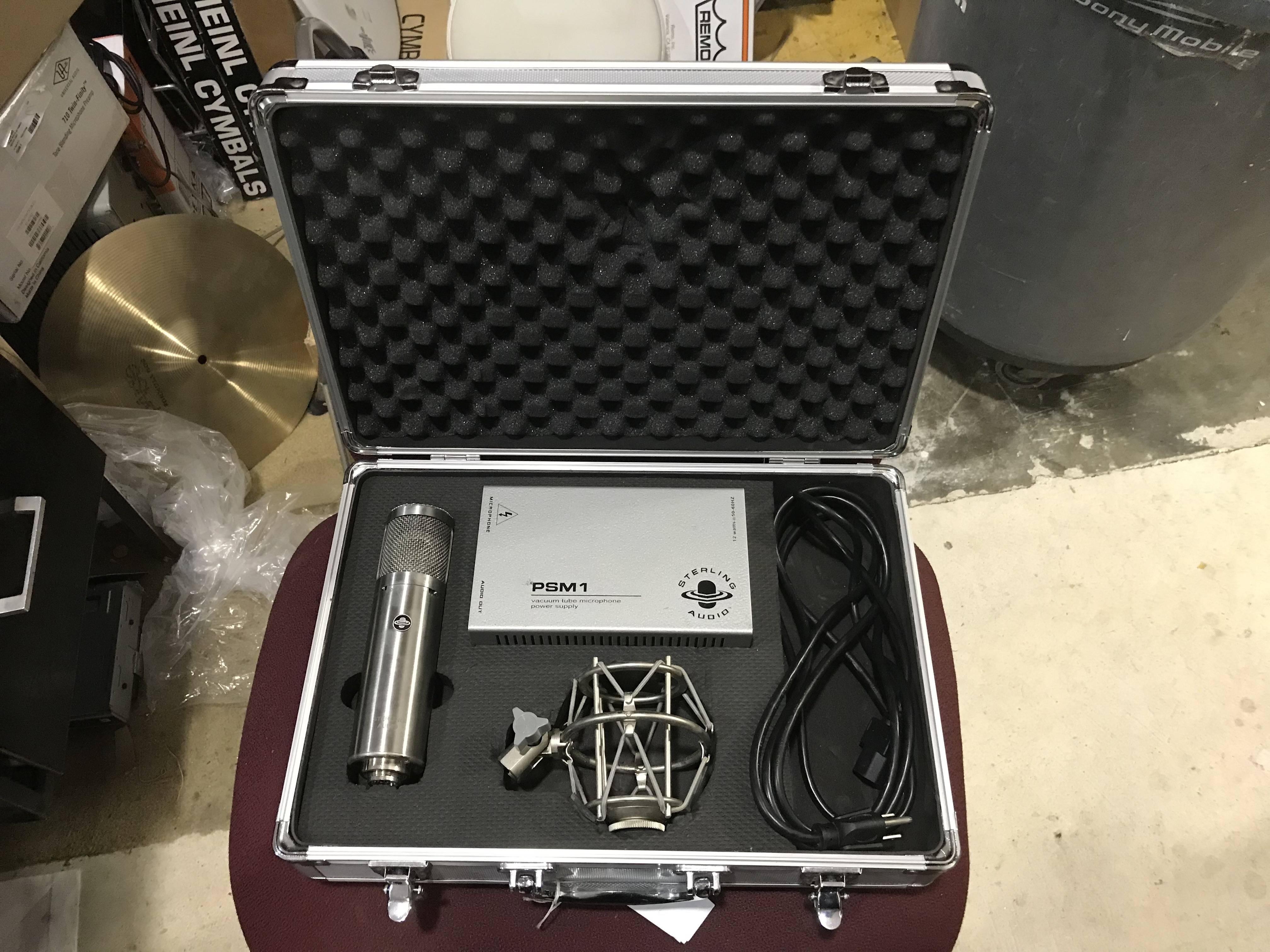 STERLING ST69 Multipattern Tube Condenser Microphone OHSC