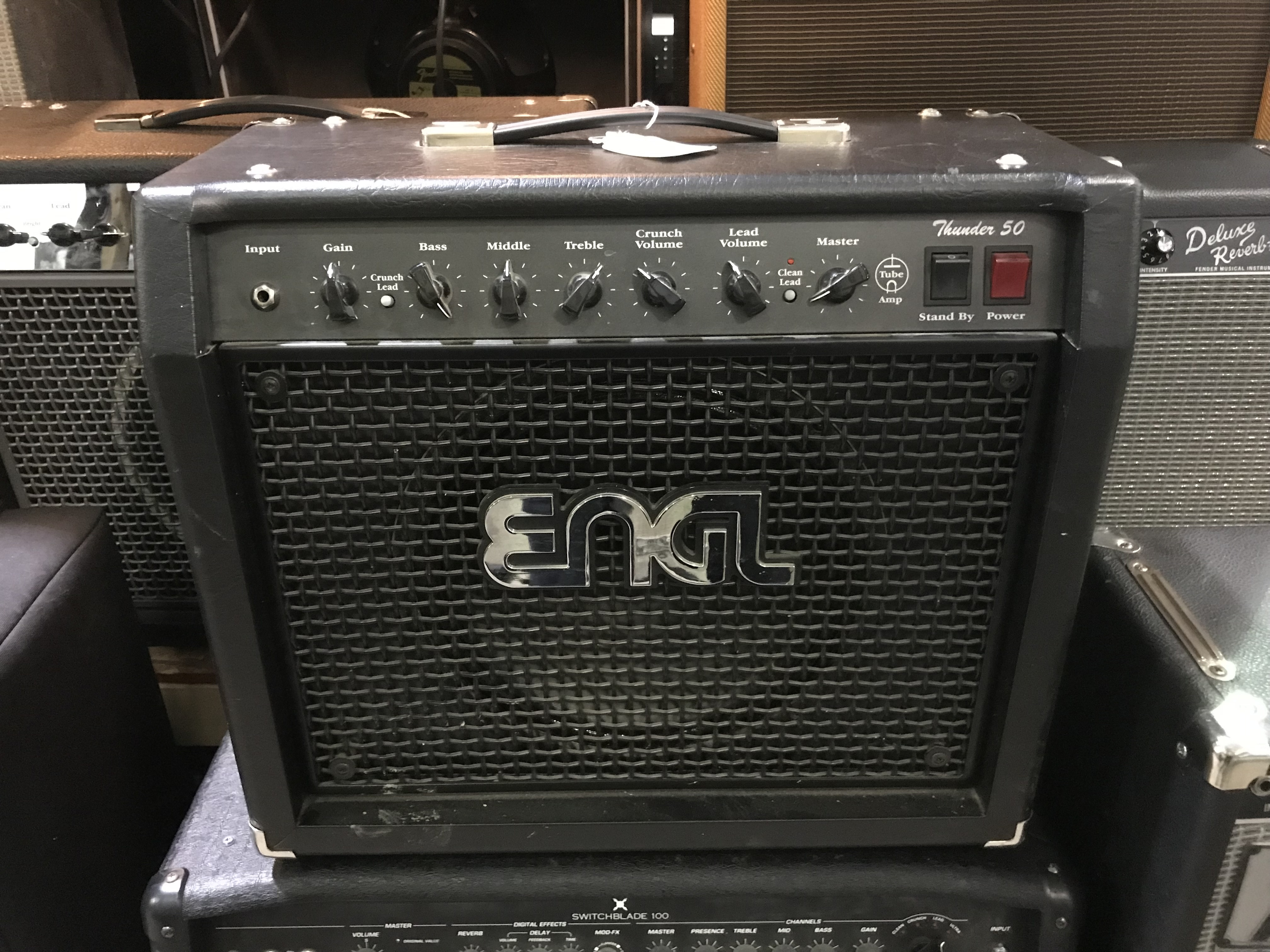 ENGL THUNDER 50 50W 1X12 Tube Guitar Combo Amp